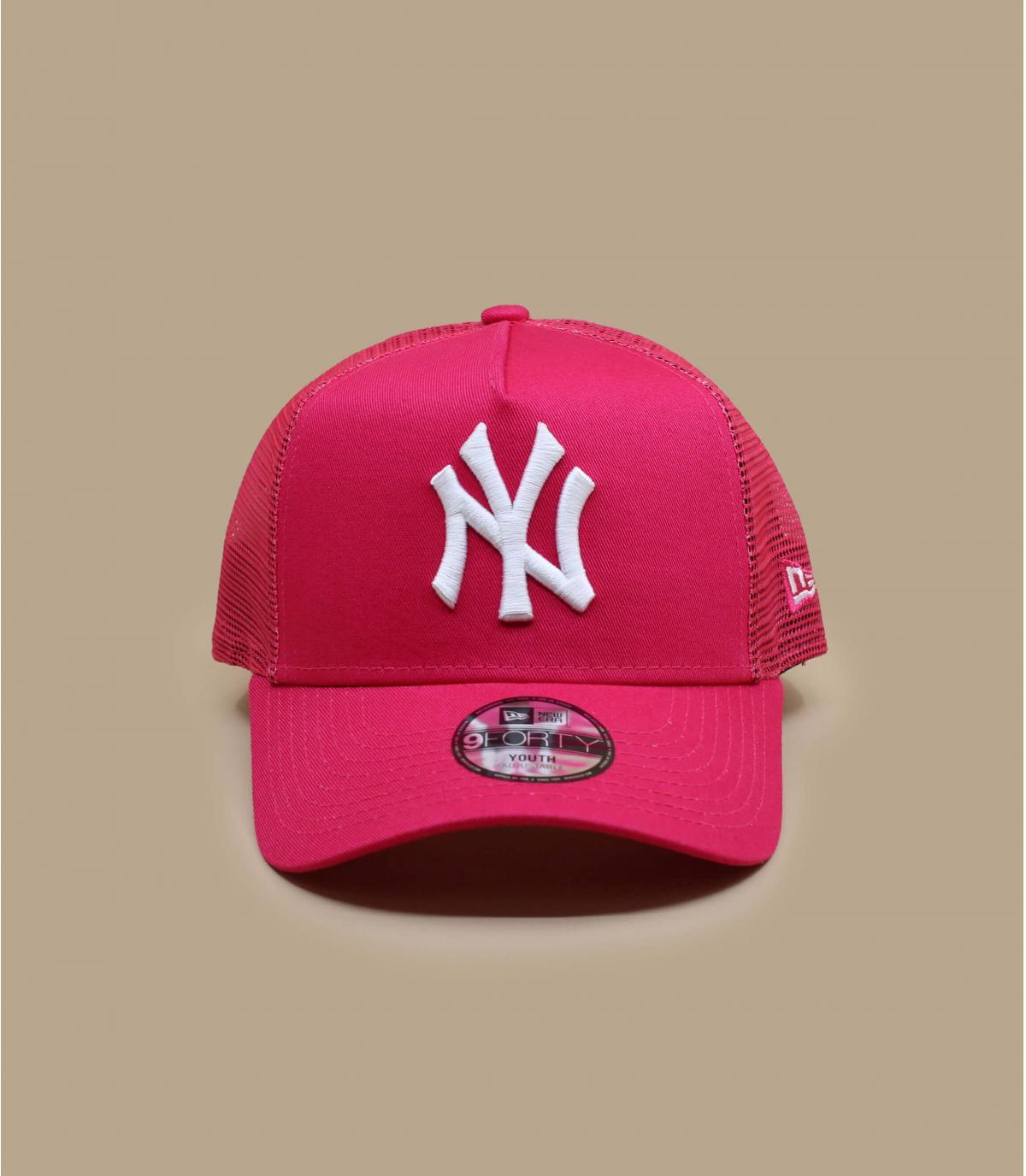 Detalles Trucker Kids Tonal Mesh NY pink imagen 2