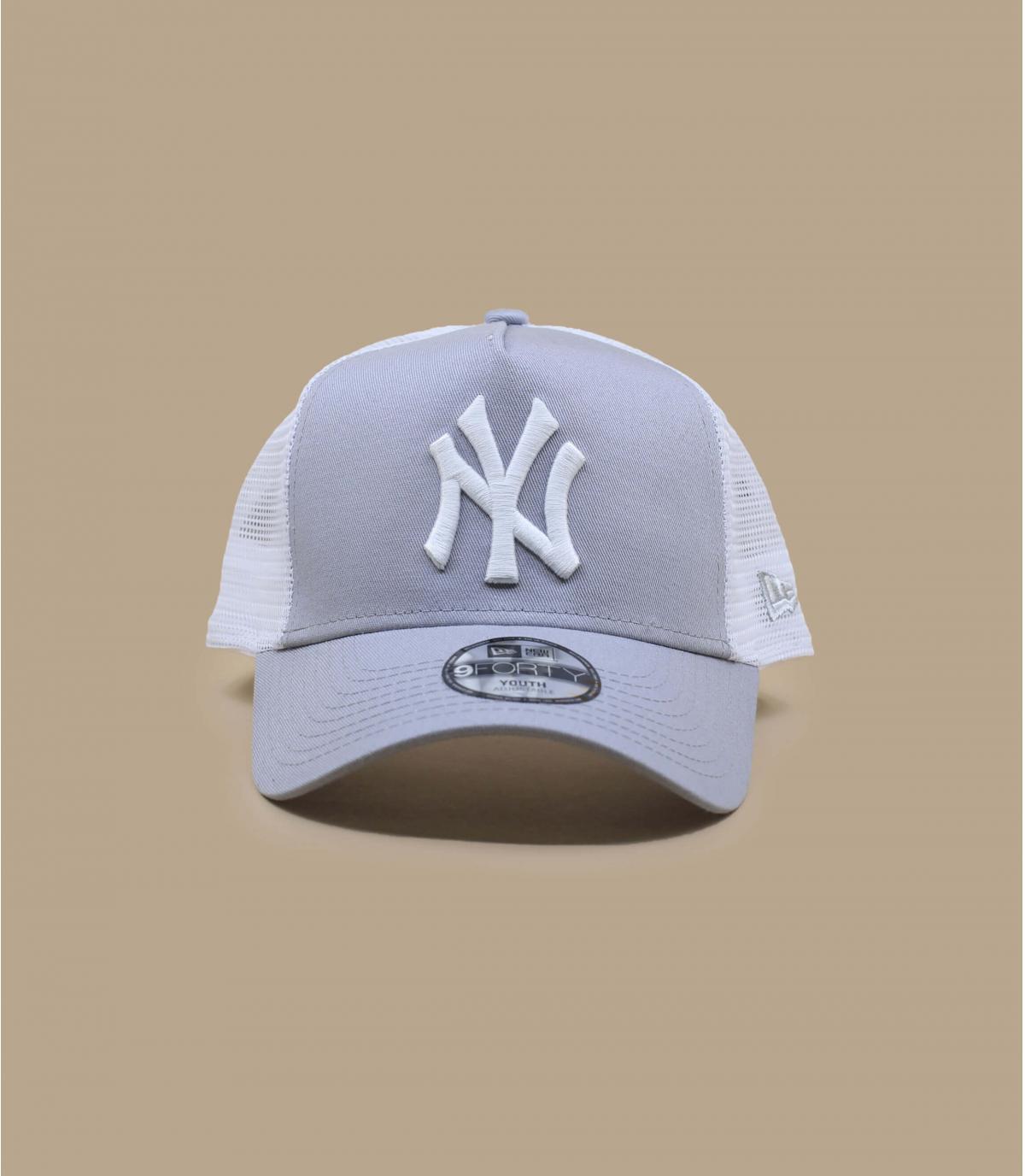 Detalles Trucker Kids NY League Ess 940 grey imagen 2
