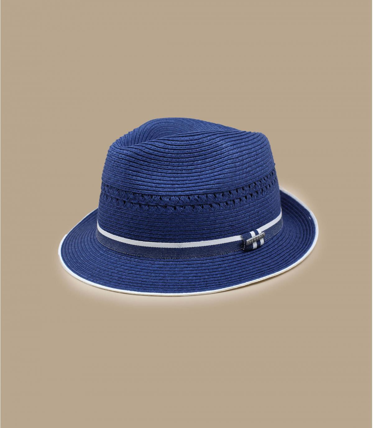 Detalles Trilby Toyo blue imagen 2