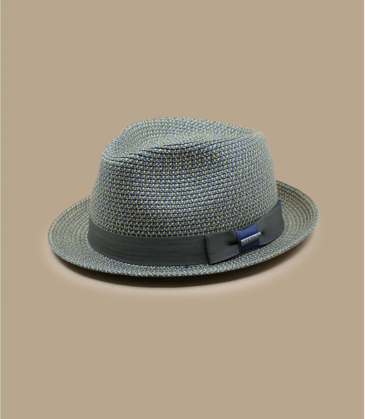 Sombrero Stetson azul gris
