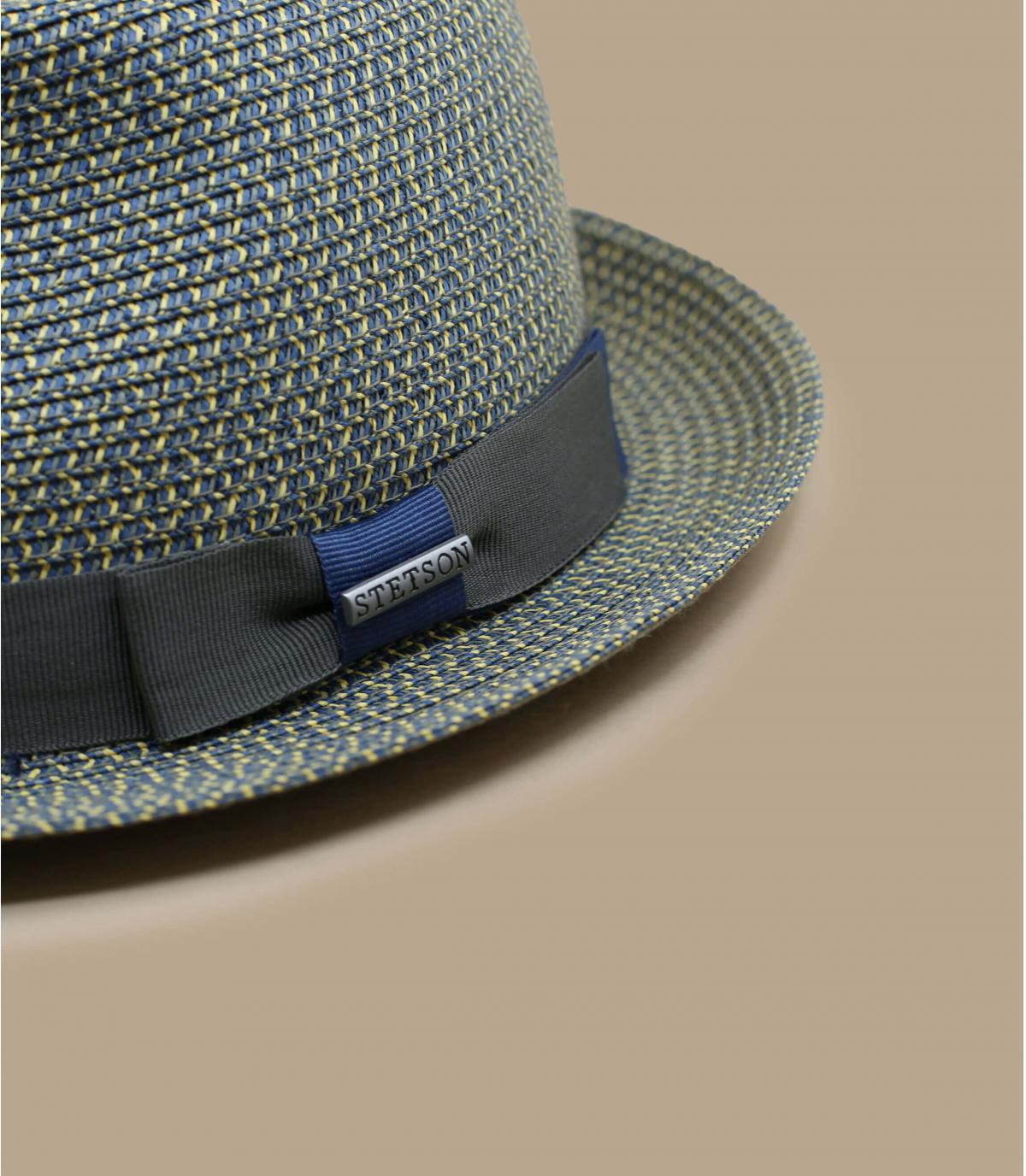 Detalles Trilby Toyo blue grey imagen 3