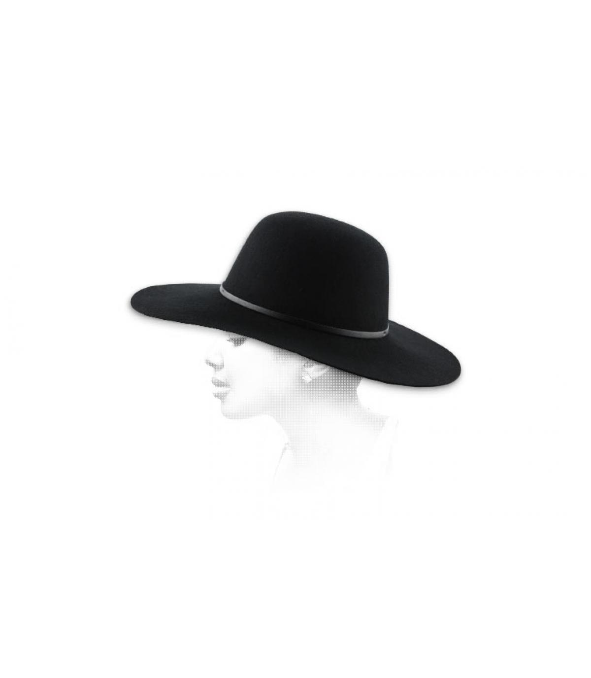 Sombrero mujer negro