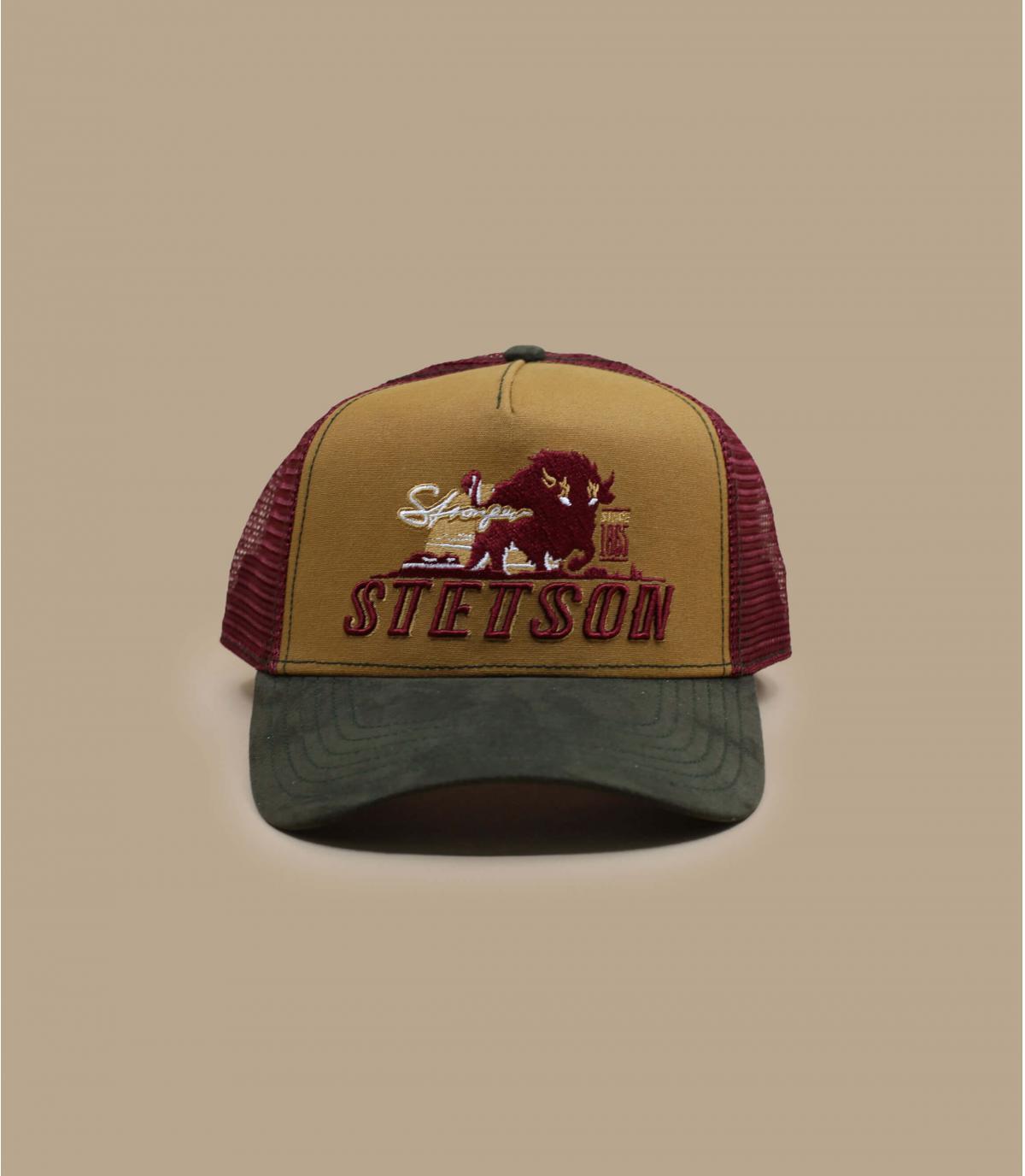 trucker bisonte Stetson