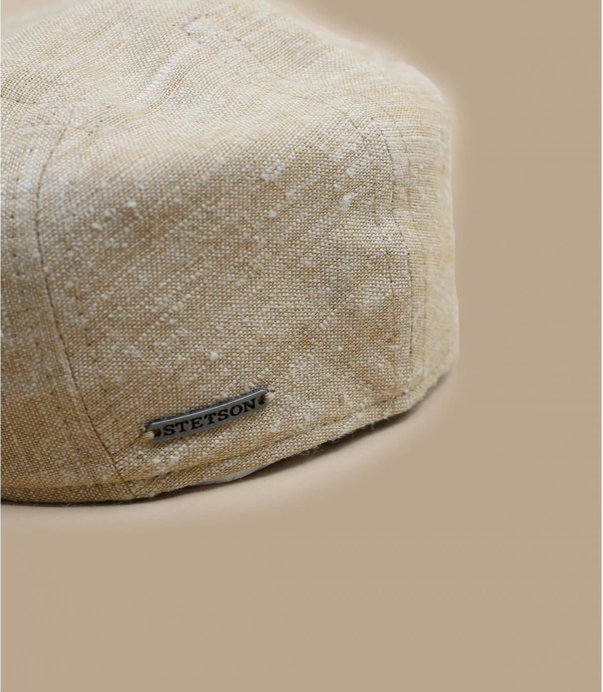 Detalles Ivy Cap Linen Silk beige imagen 2