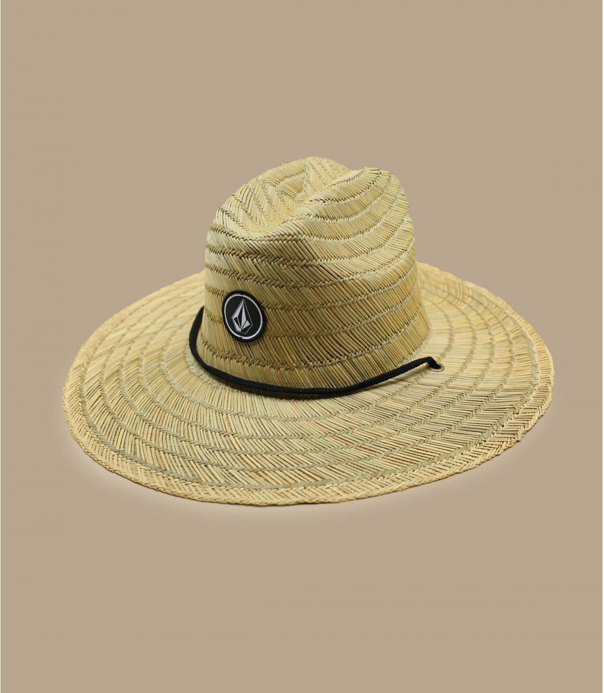 Detalles Quarter Straw Hat natural imagen 2