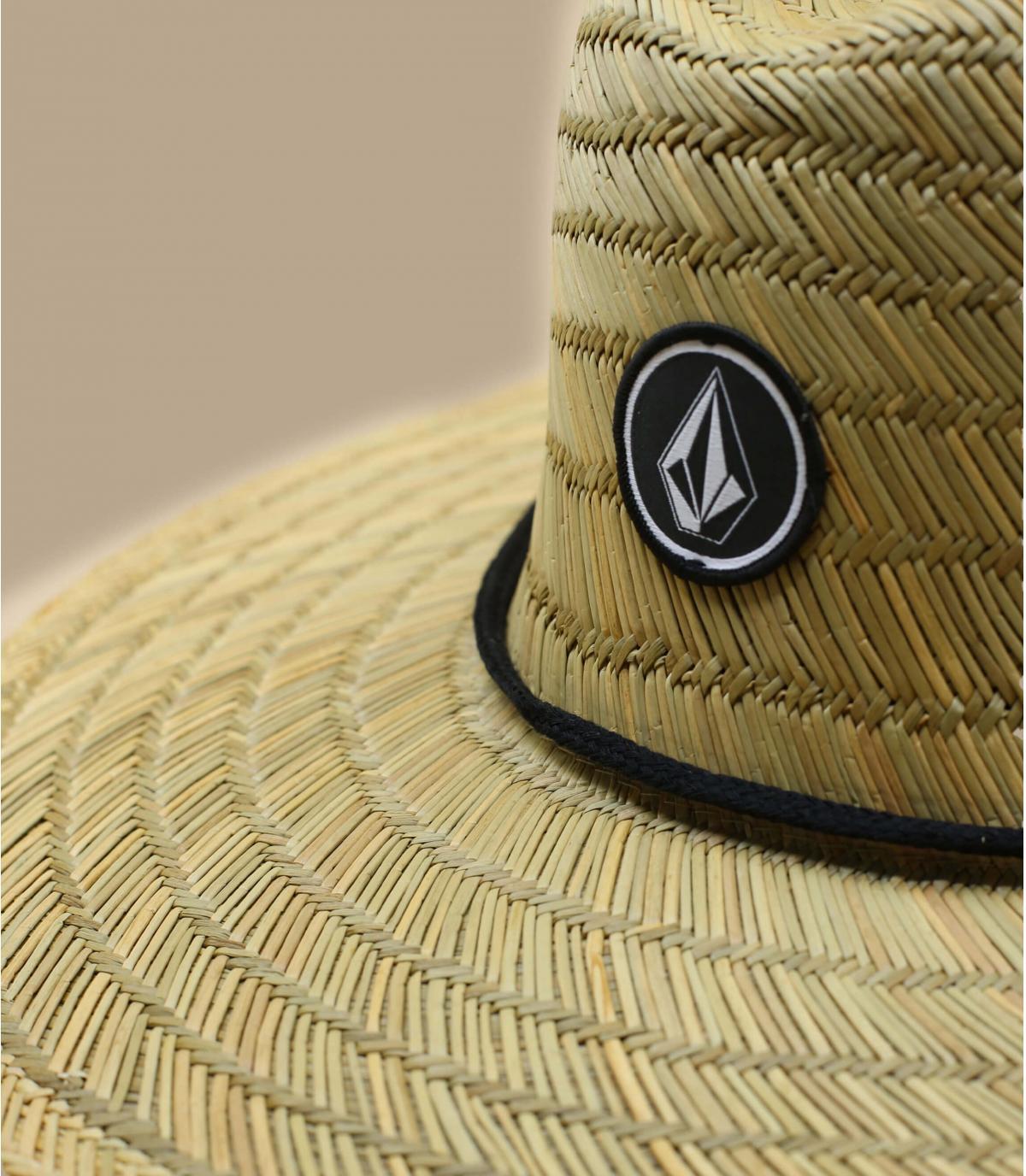 Detalles Quarter Straw Hat natural imagen 3