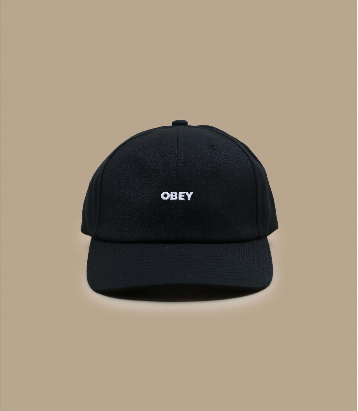 gorra Obey negro
