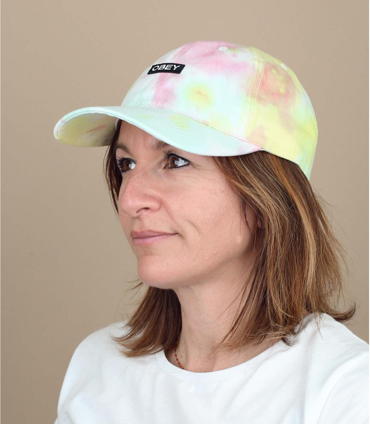 gorra tie and dye Obey