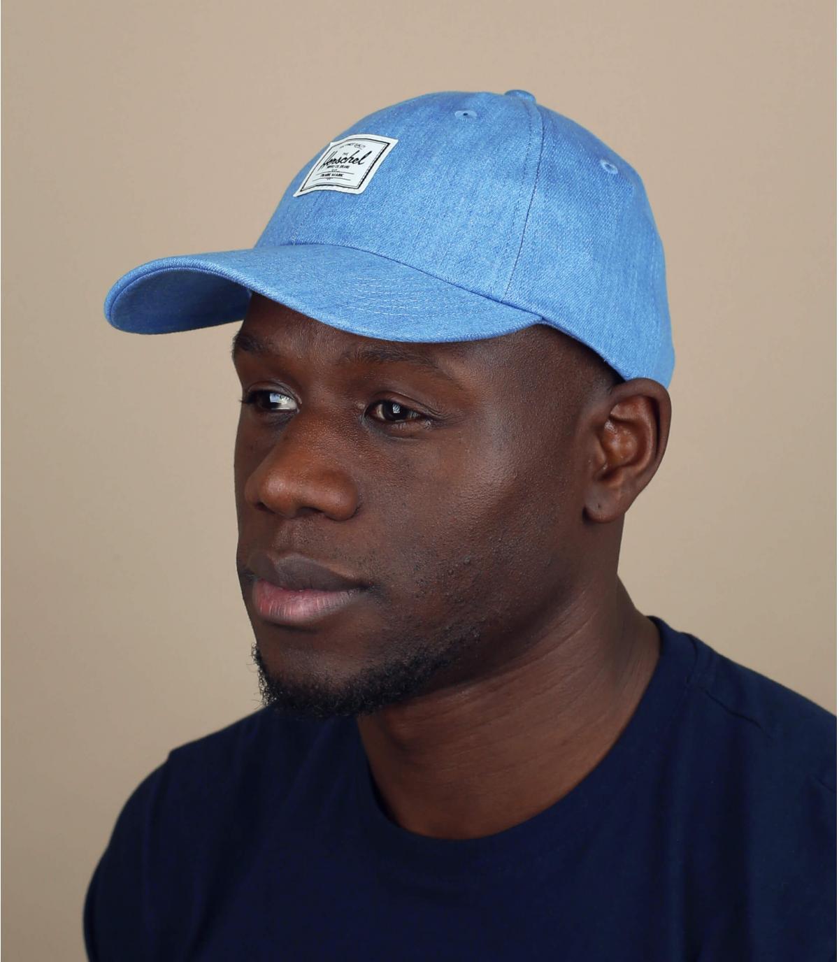 gorra Herschel azul claro