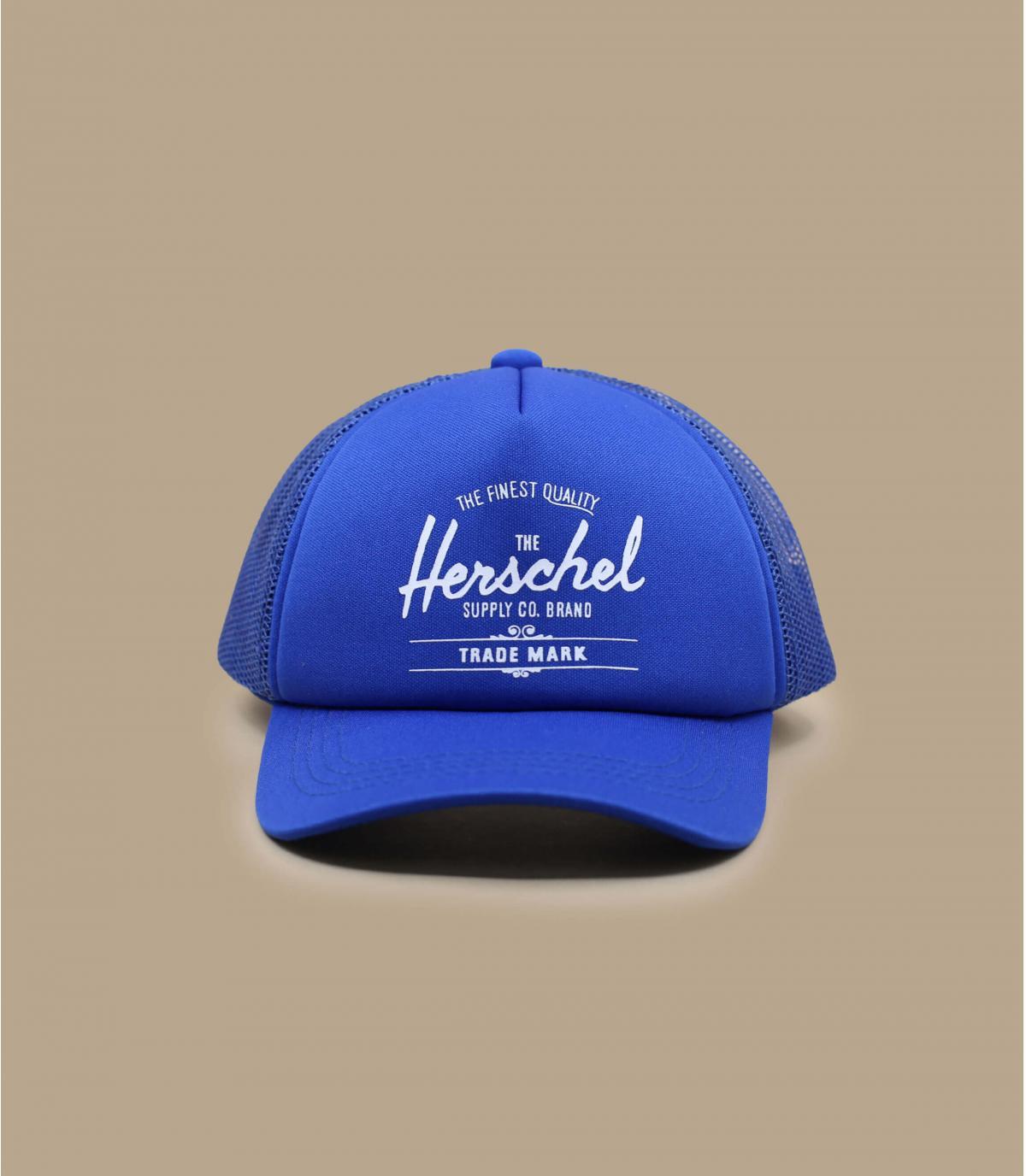 gorra bebe Herschel azul