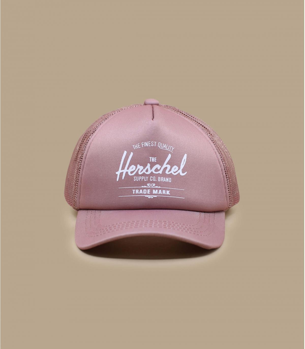 gorra bebe Herschel rosa