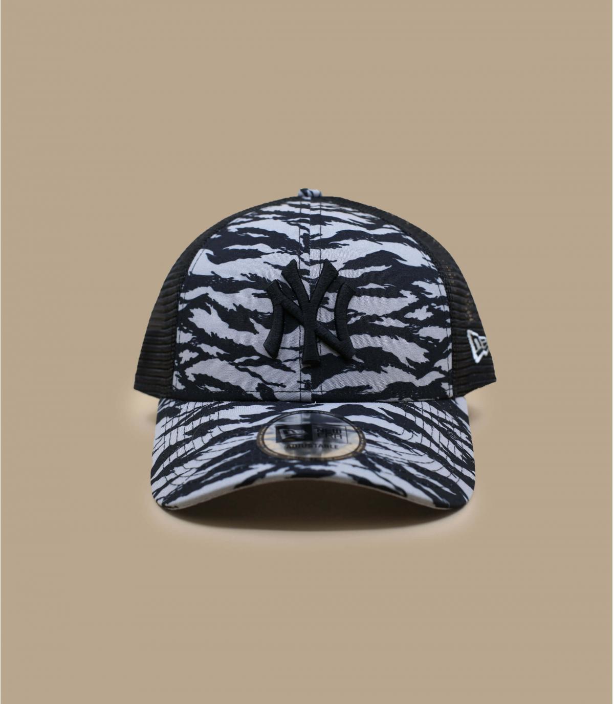 Detalles Trucker Tiger Print NY grey imagen 2