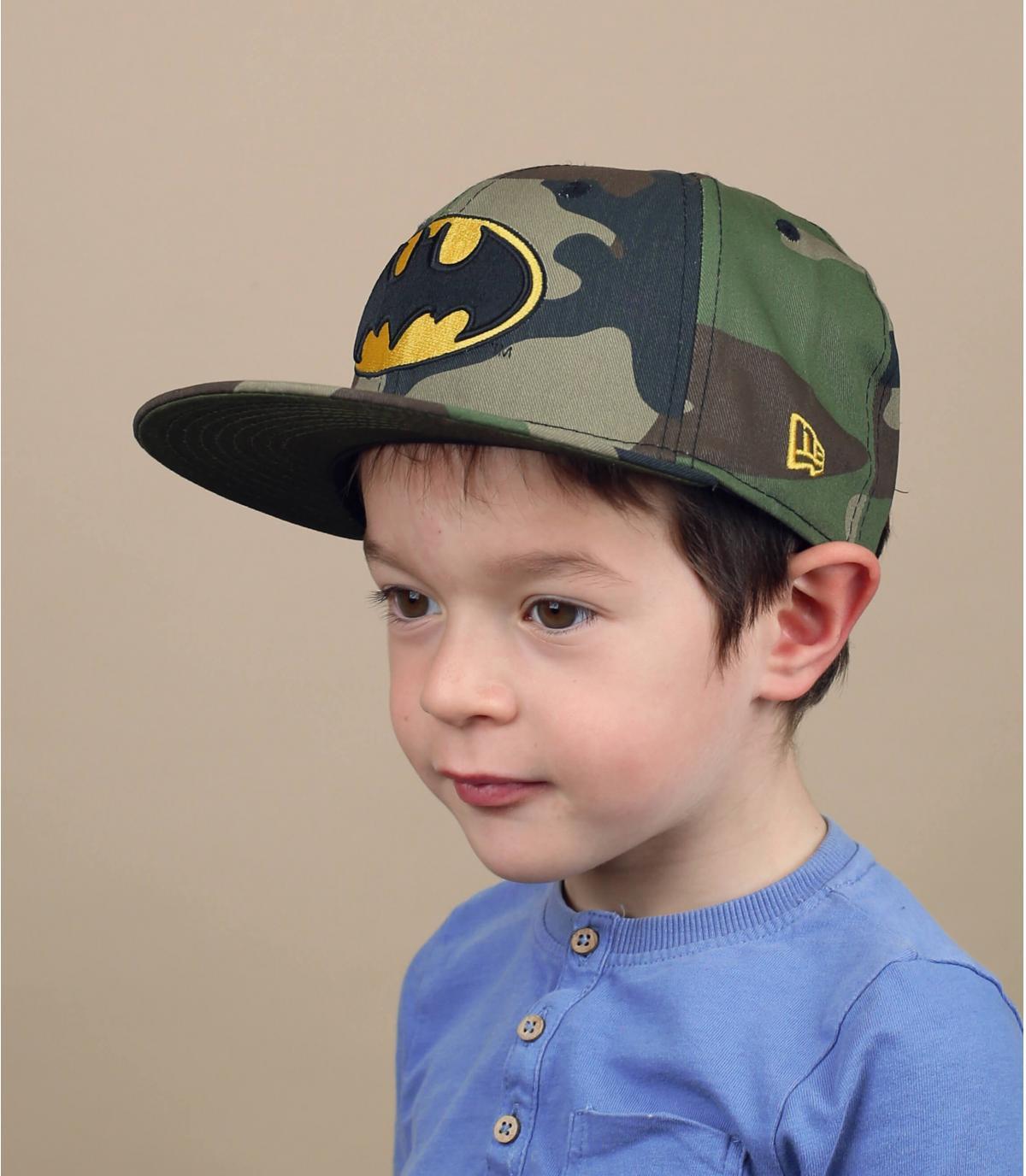 snapback niño Batman camuflaje