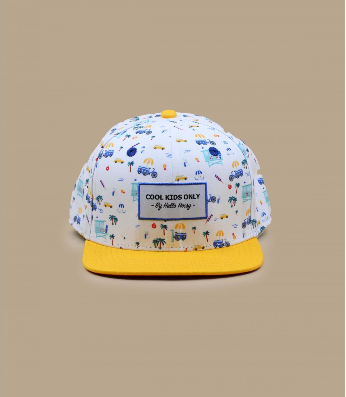 gorra niño amarillo