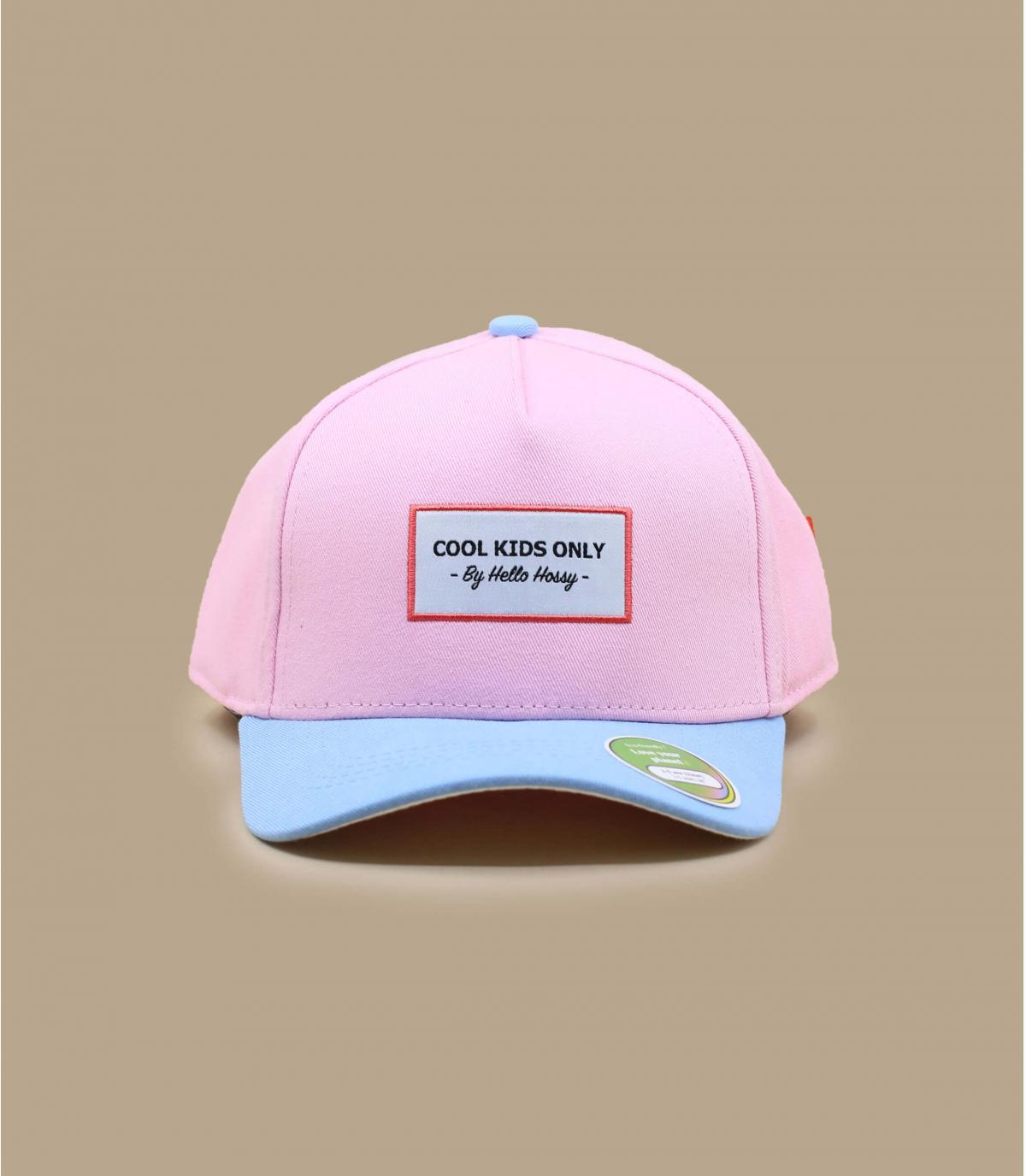 Gorra curva niño rosa