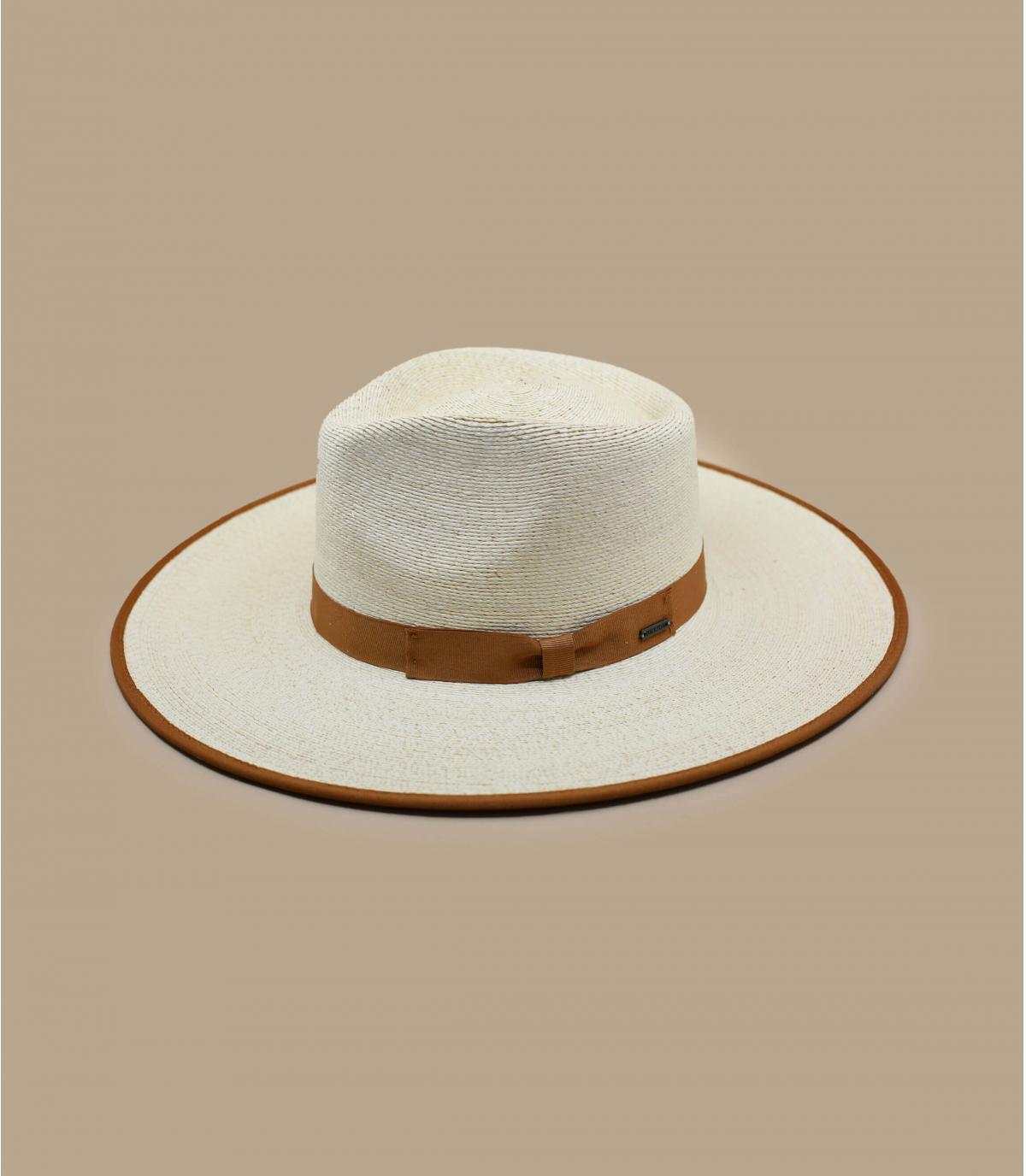 Sombrero mujer paja