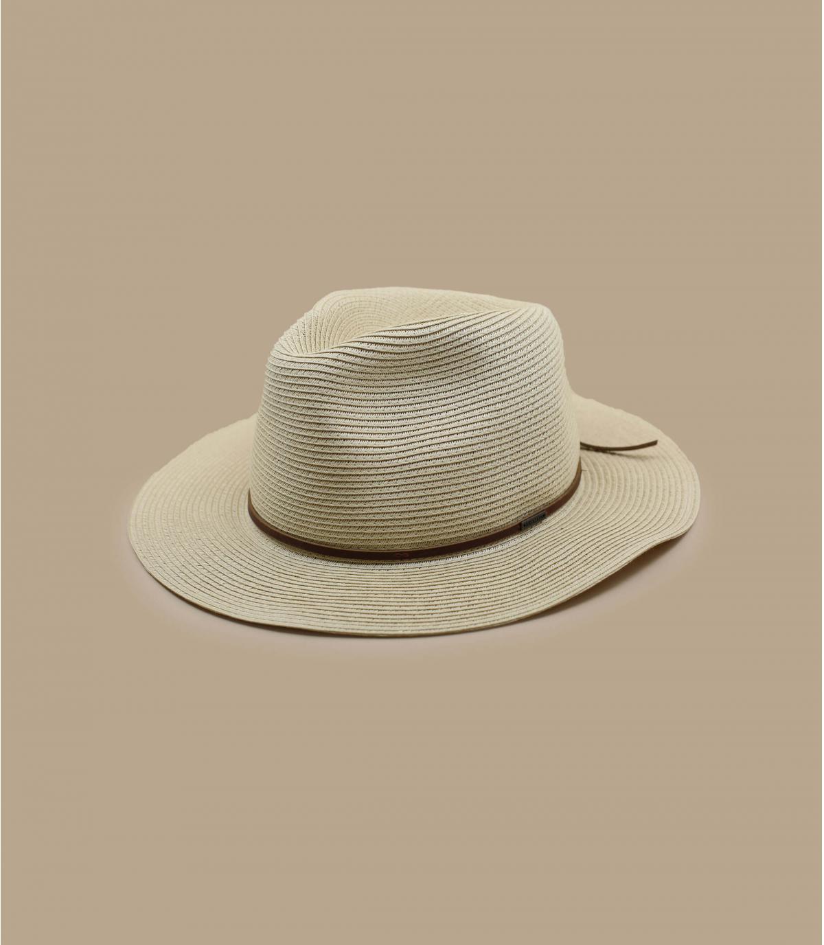 sombrero paja plegable Brixton.