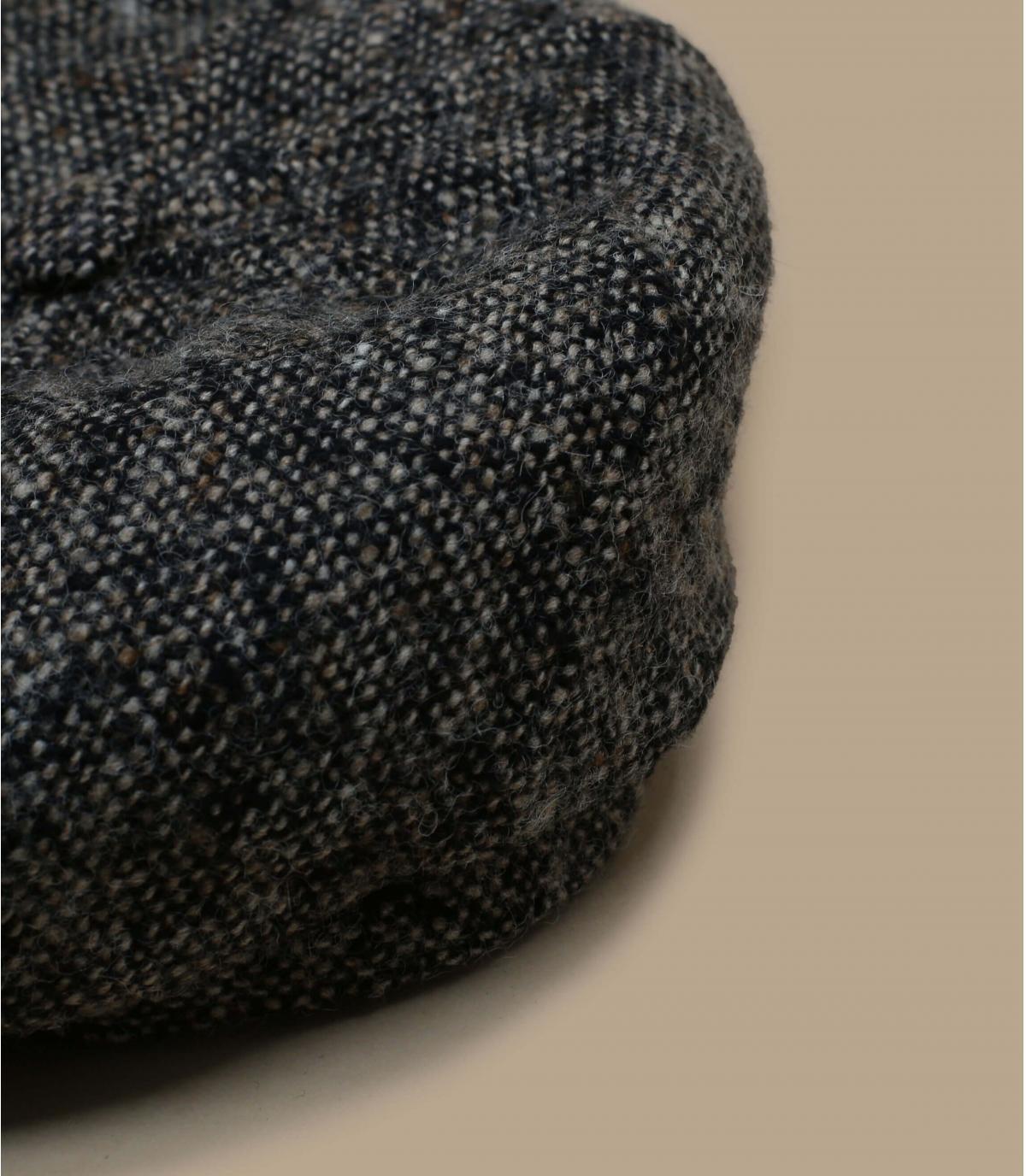 Detalles Brooklyn wool brown and leather imagen 2