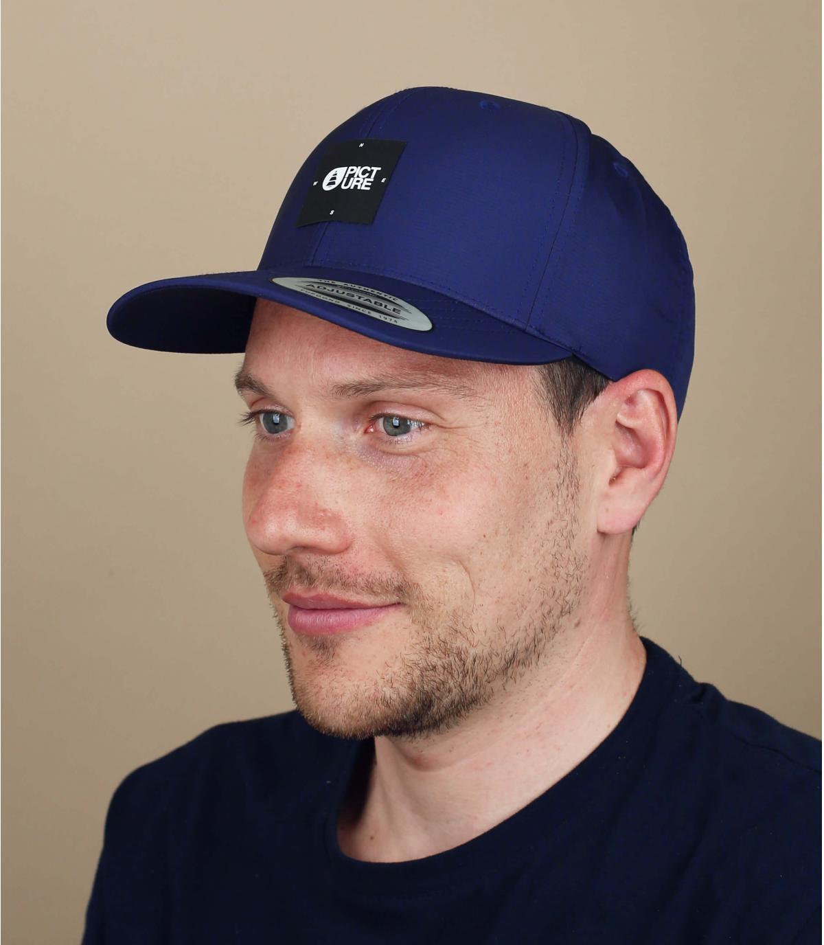 Gorra Picture azul marino
