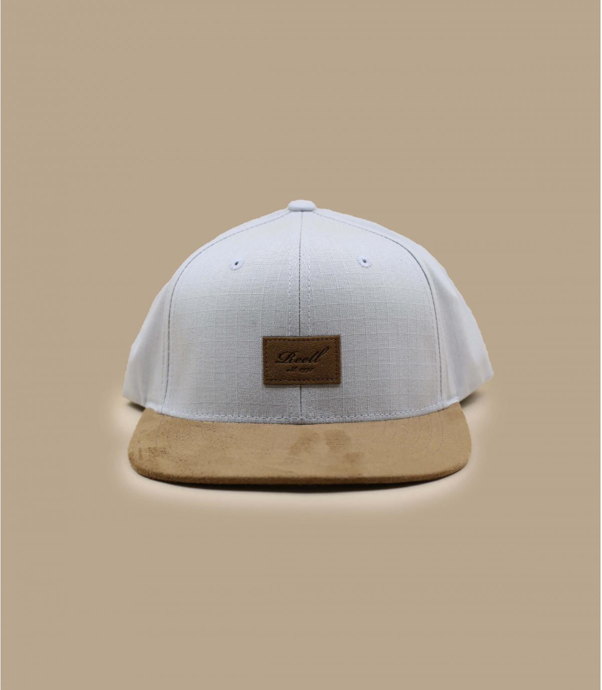 gorra gris claro Reell