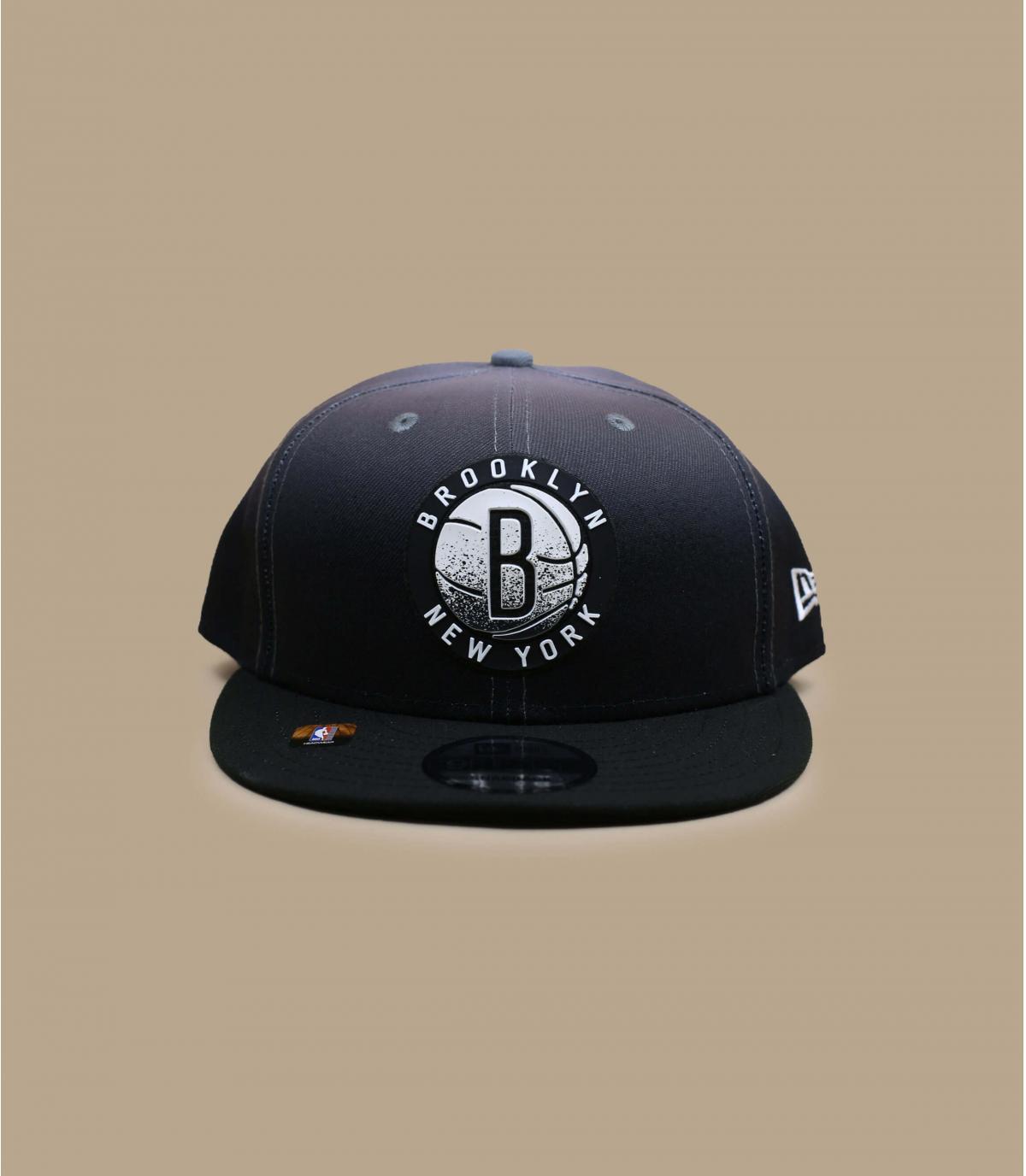 gorra negra Brooklyn Nets