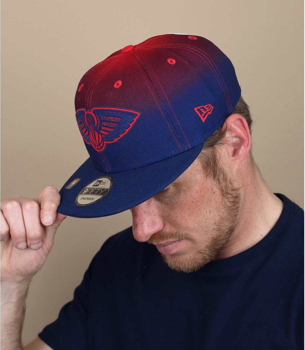 gorra Pelicans rojo