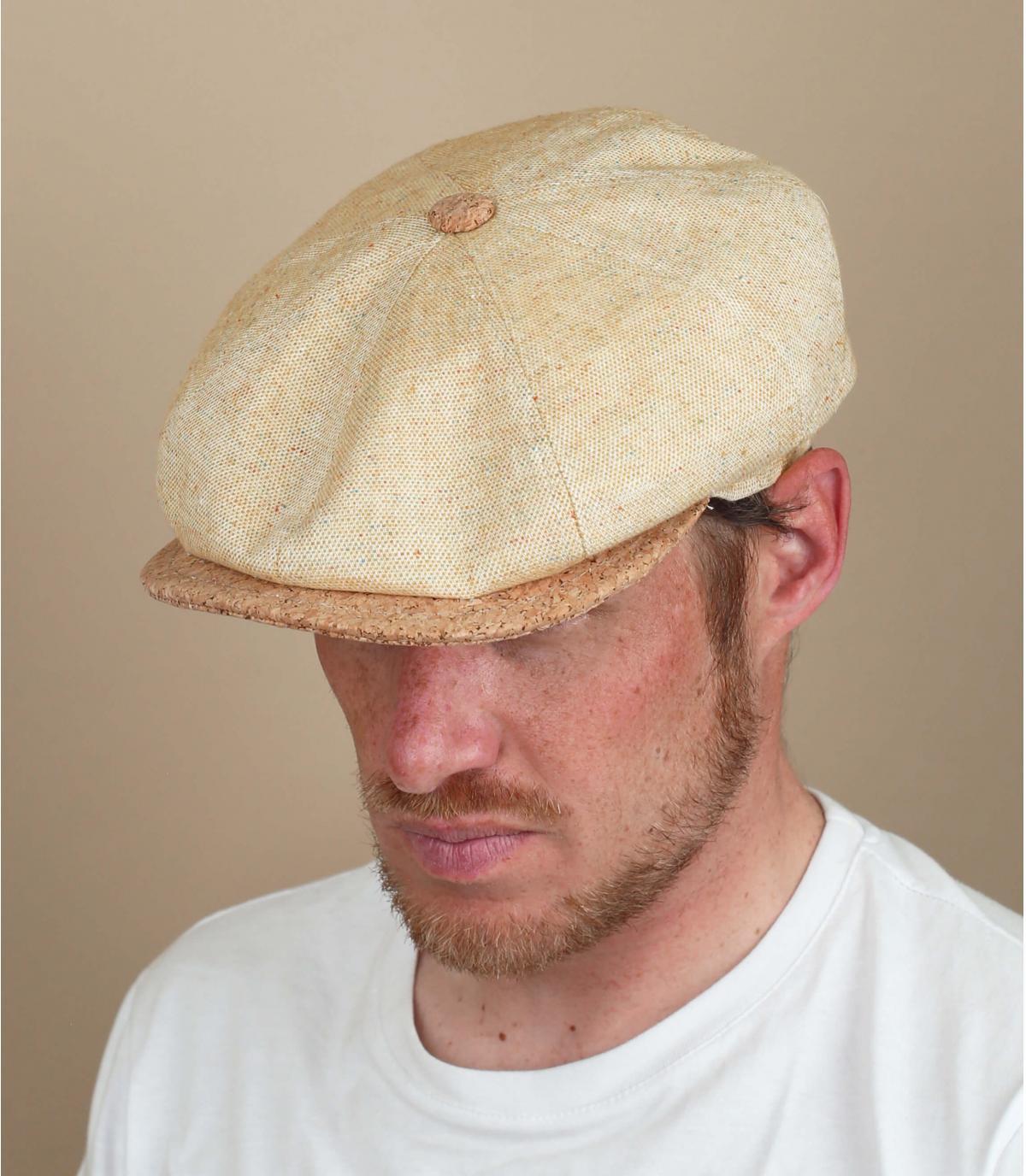 gorra repartidor lino amarillo
