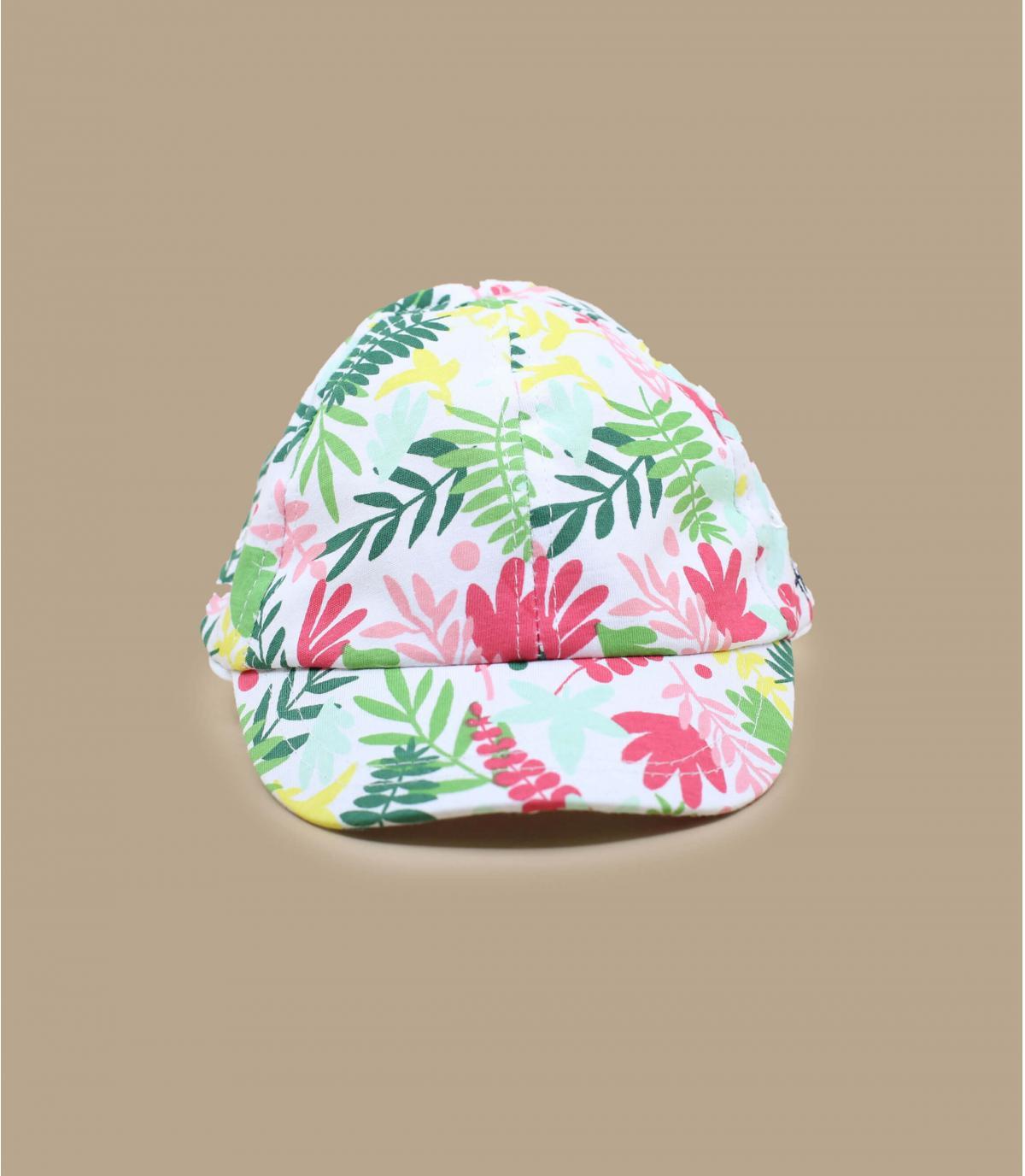 gorra niño flores