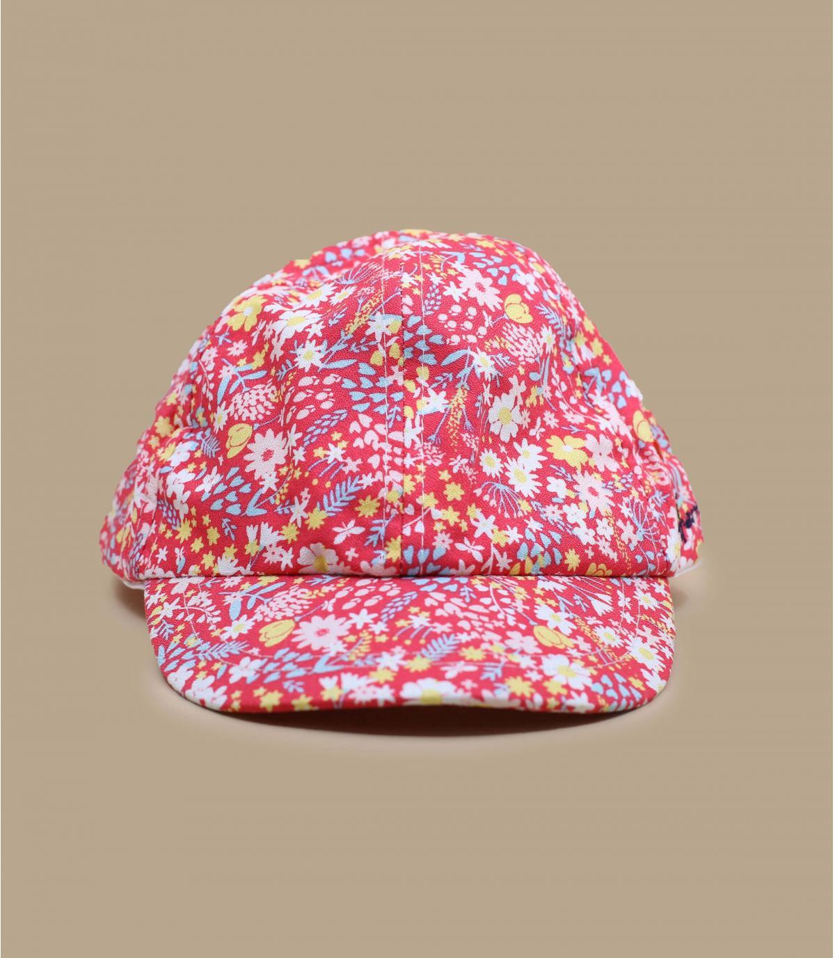 gorra niña rosa