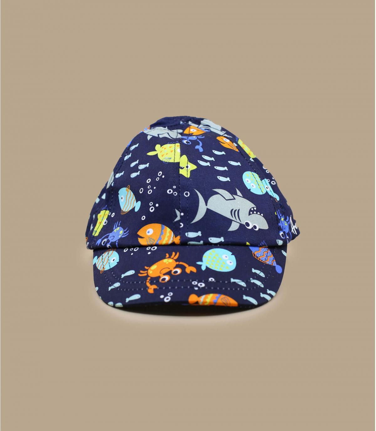 gorra niño azul