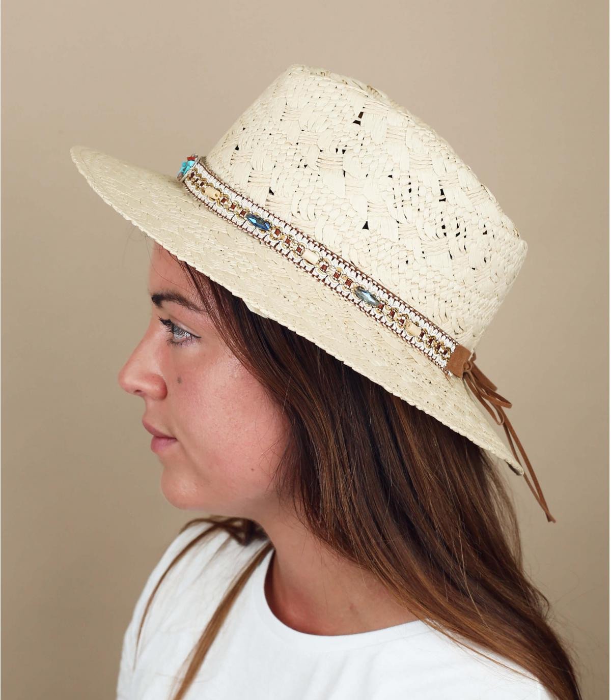 sombrero paja fantasía