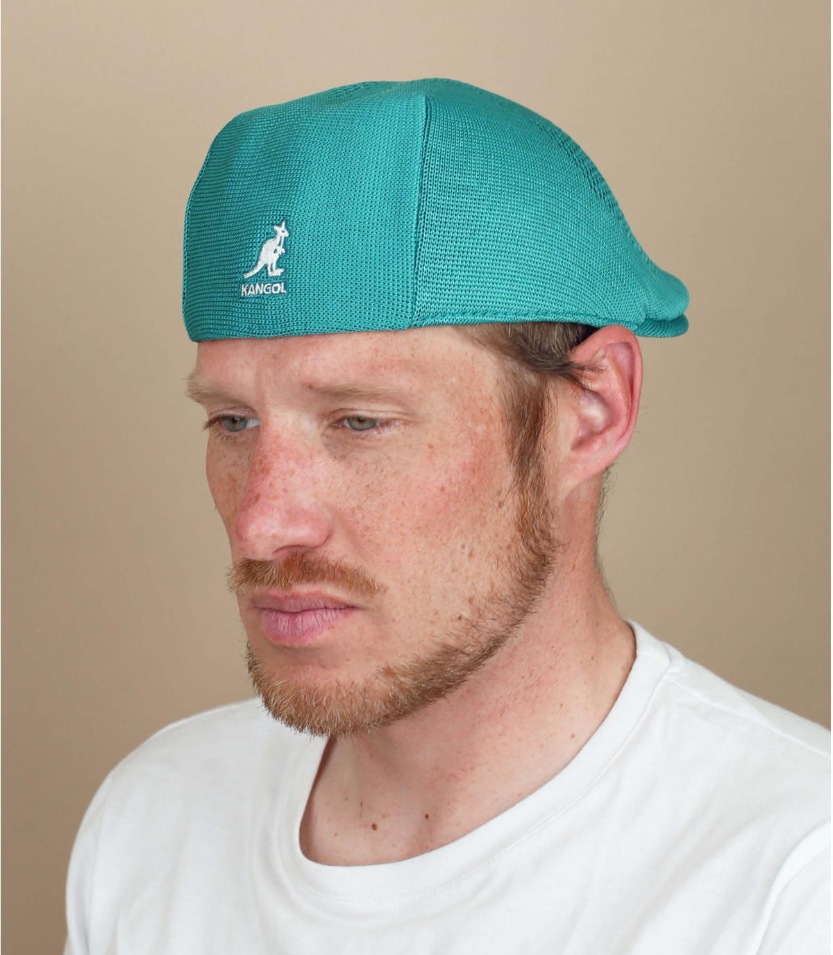 Gorra azul calada Kangol