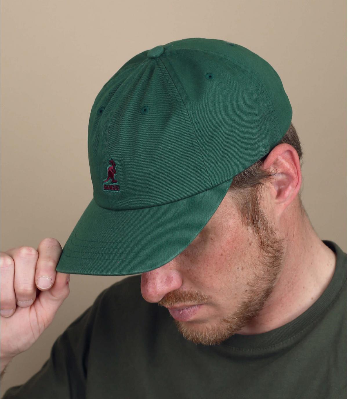 gorra Kangol verde