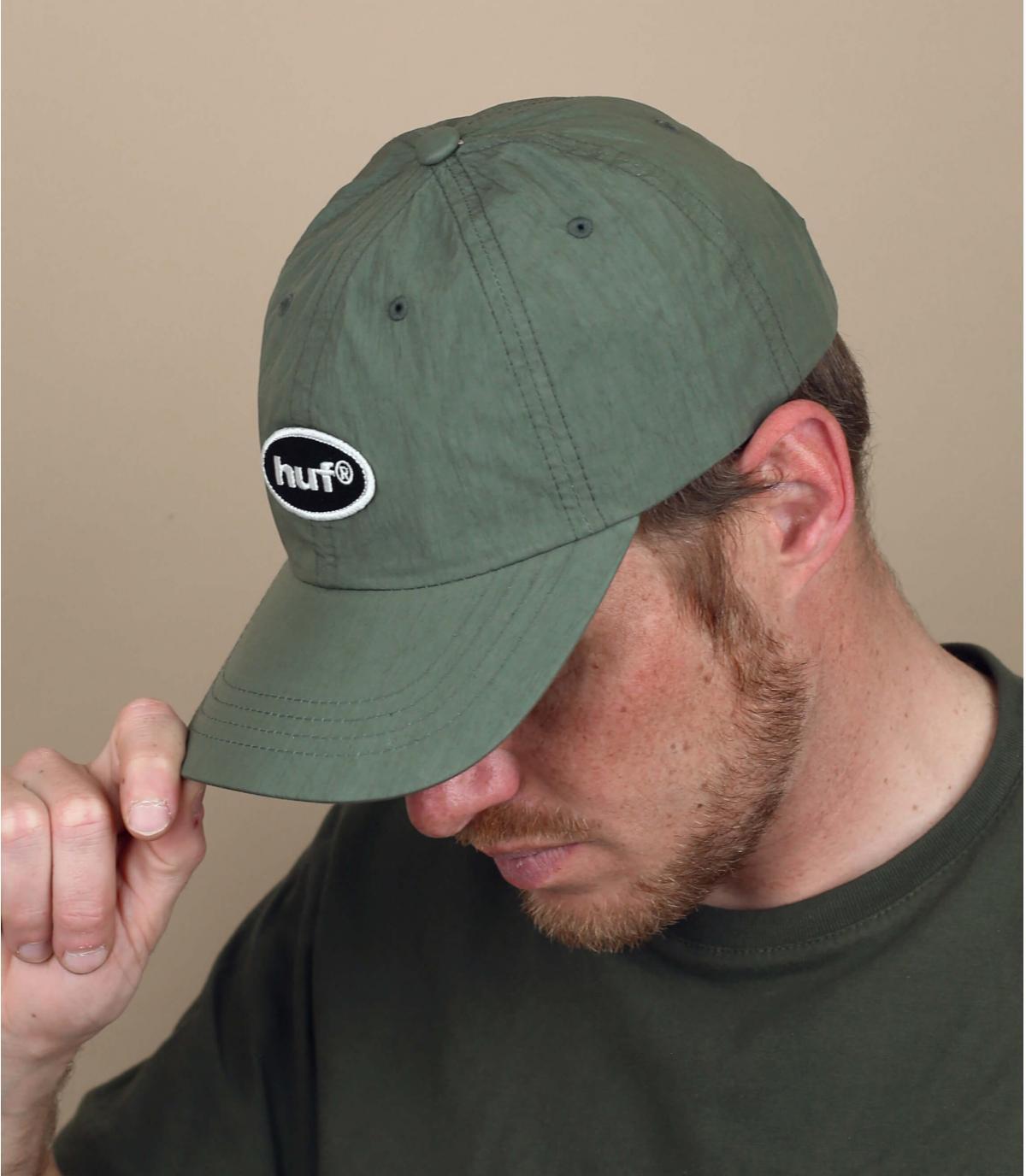 Gorra Huf verde