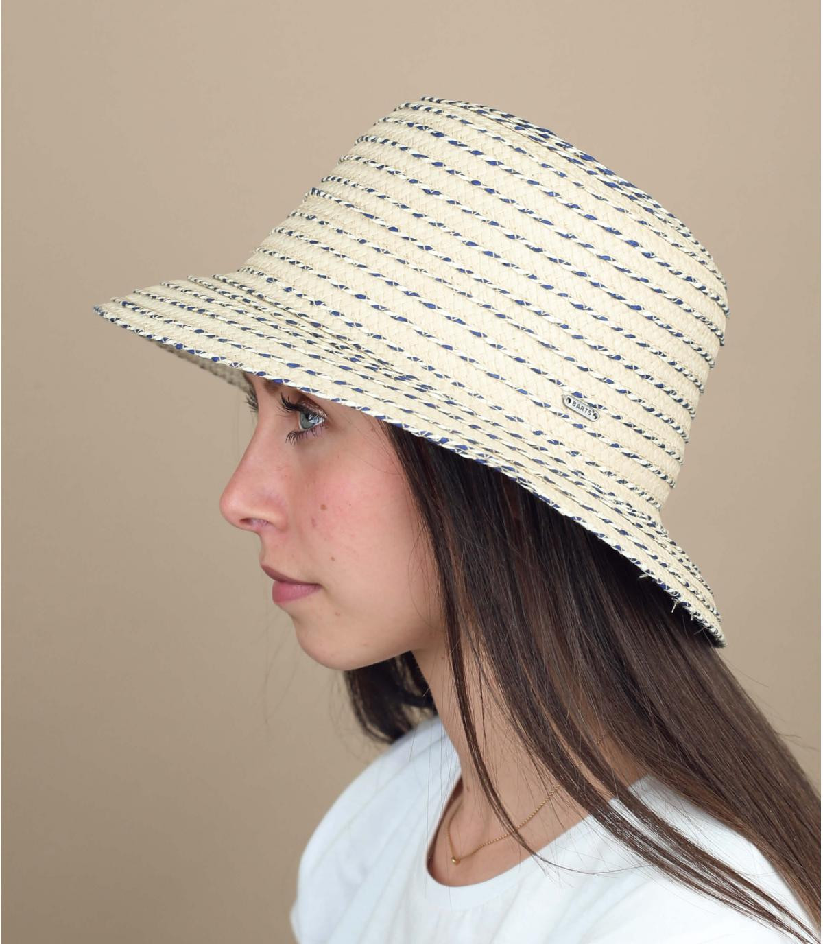 Sombrero campana paja Barts