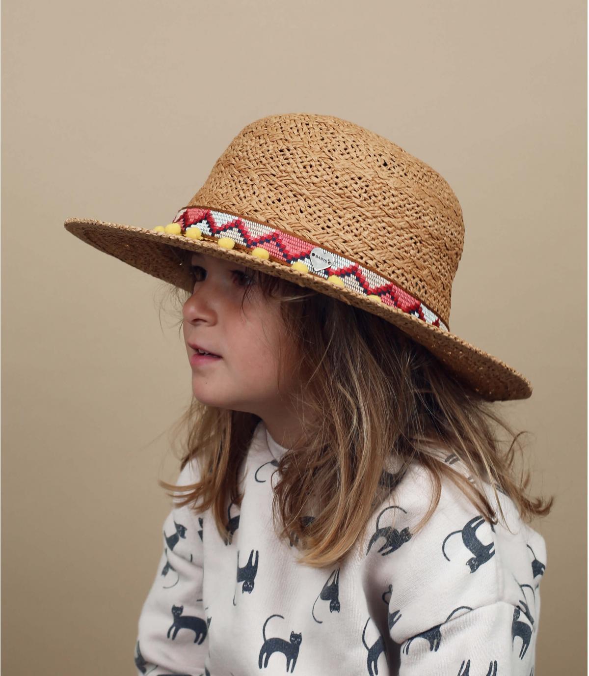 Sombrero paja infantil Barts