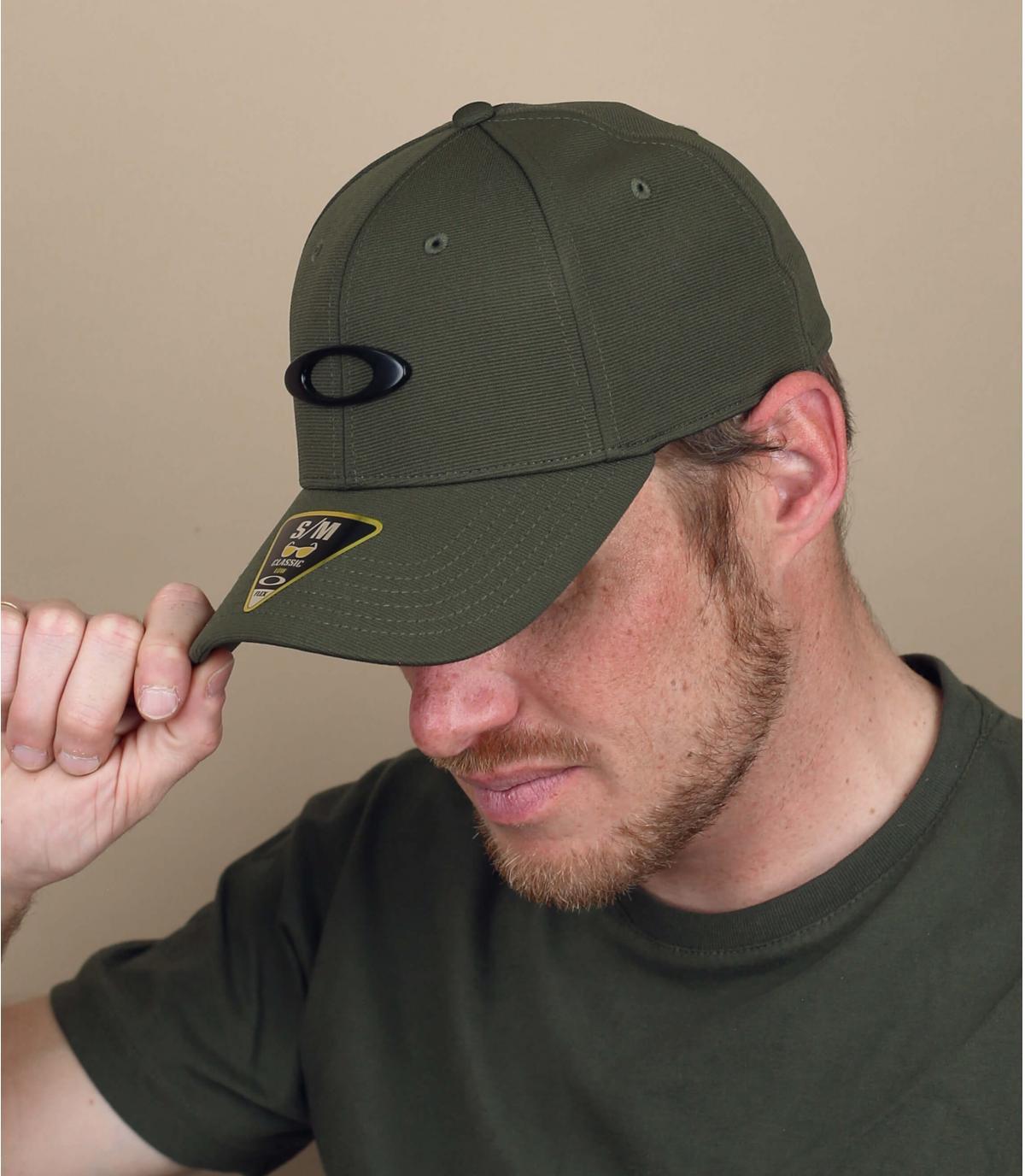 Gorra Oakley verde
