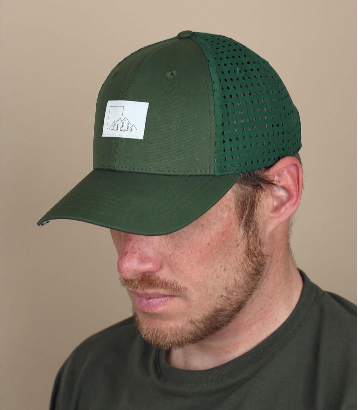 gorra verde NOSC