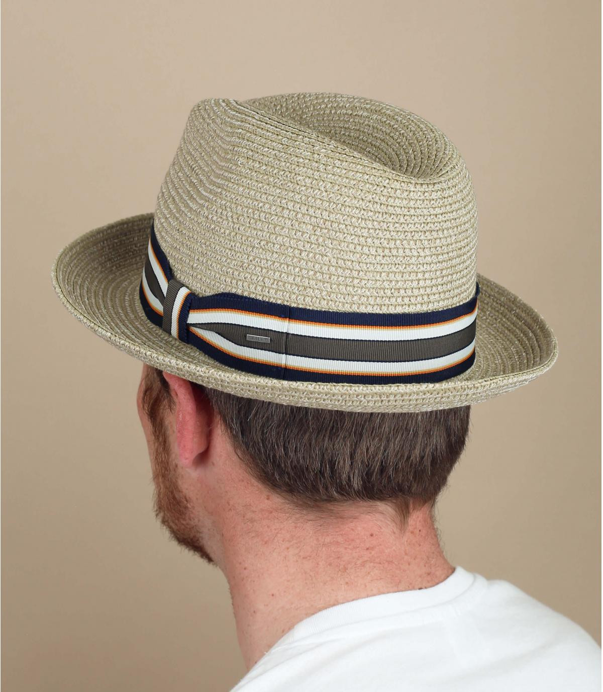 sombrero paja beis Bailey