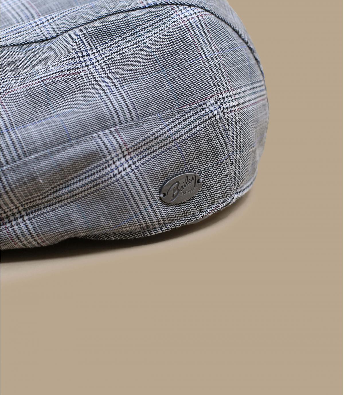 gorra cuadros gris Bailey