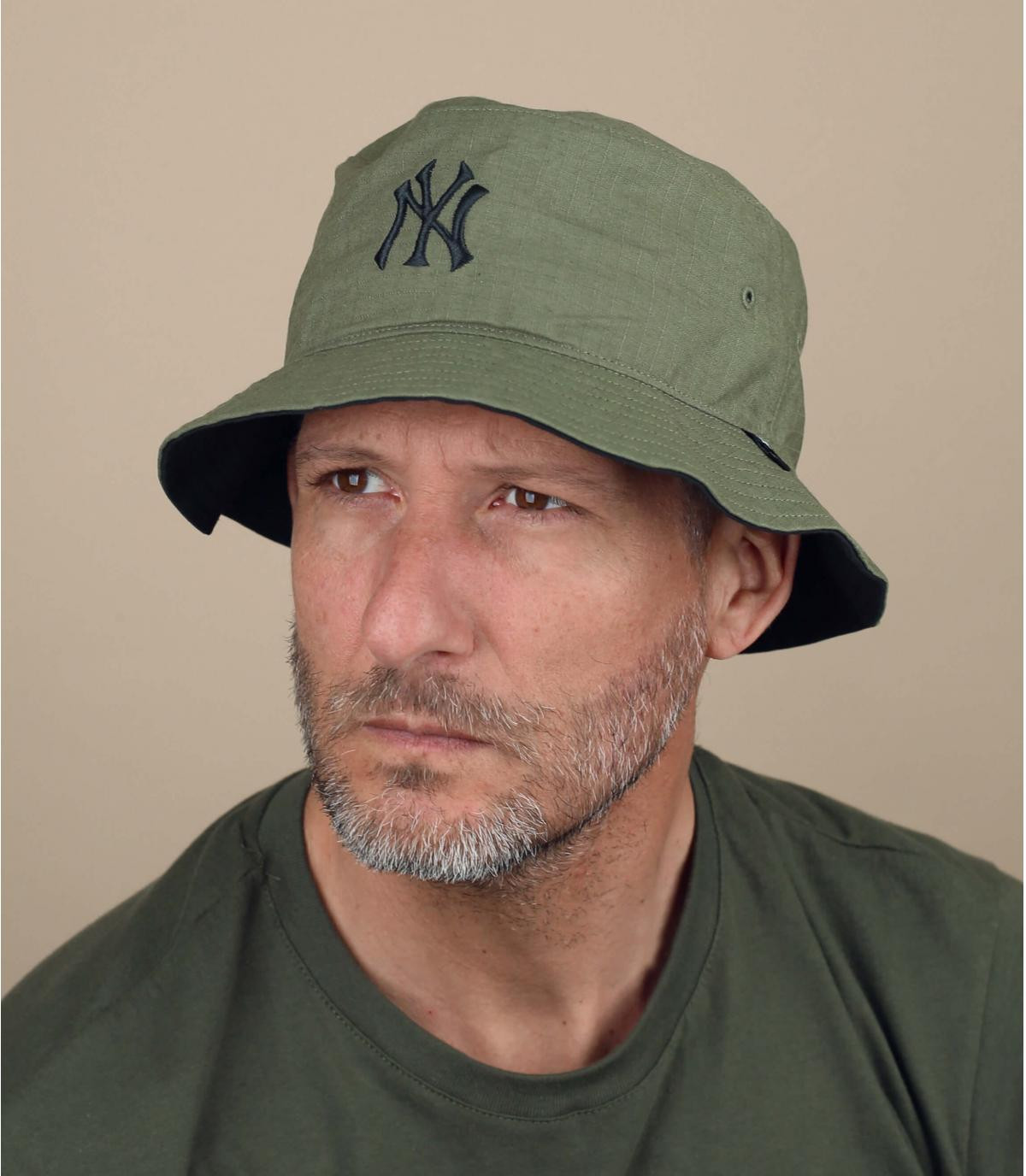 Gorro pescador NY verde
