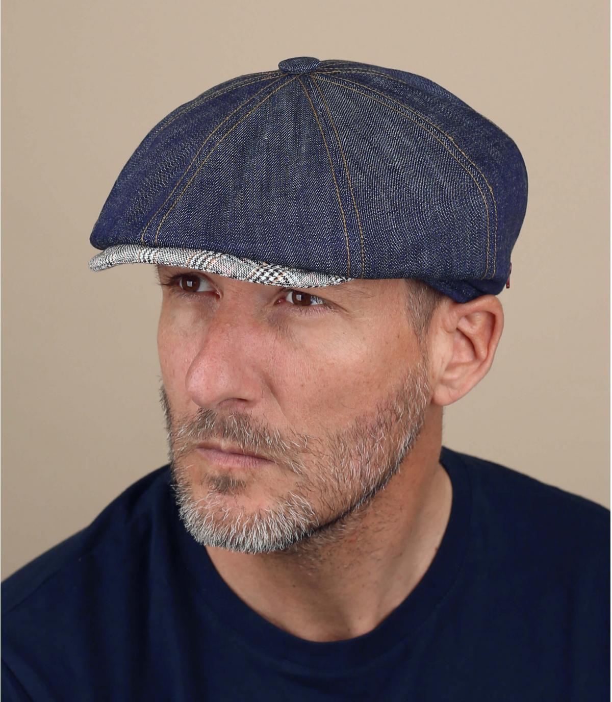 gorra repartidor lino azul