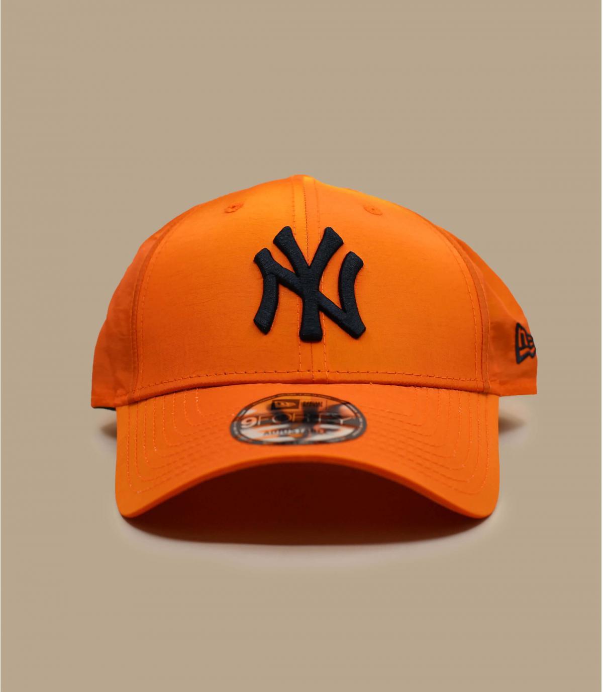 gorra NY naranja irisado