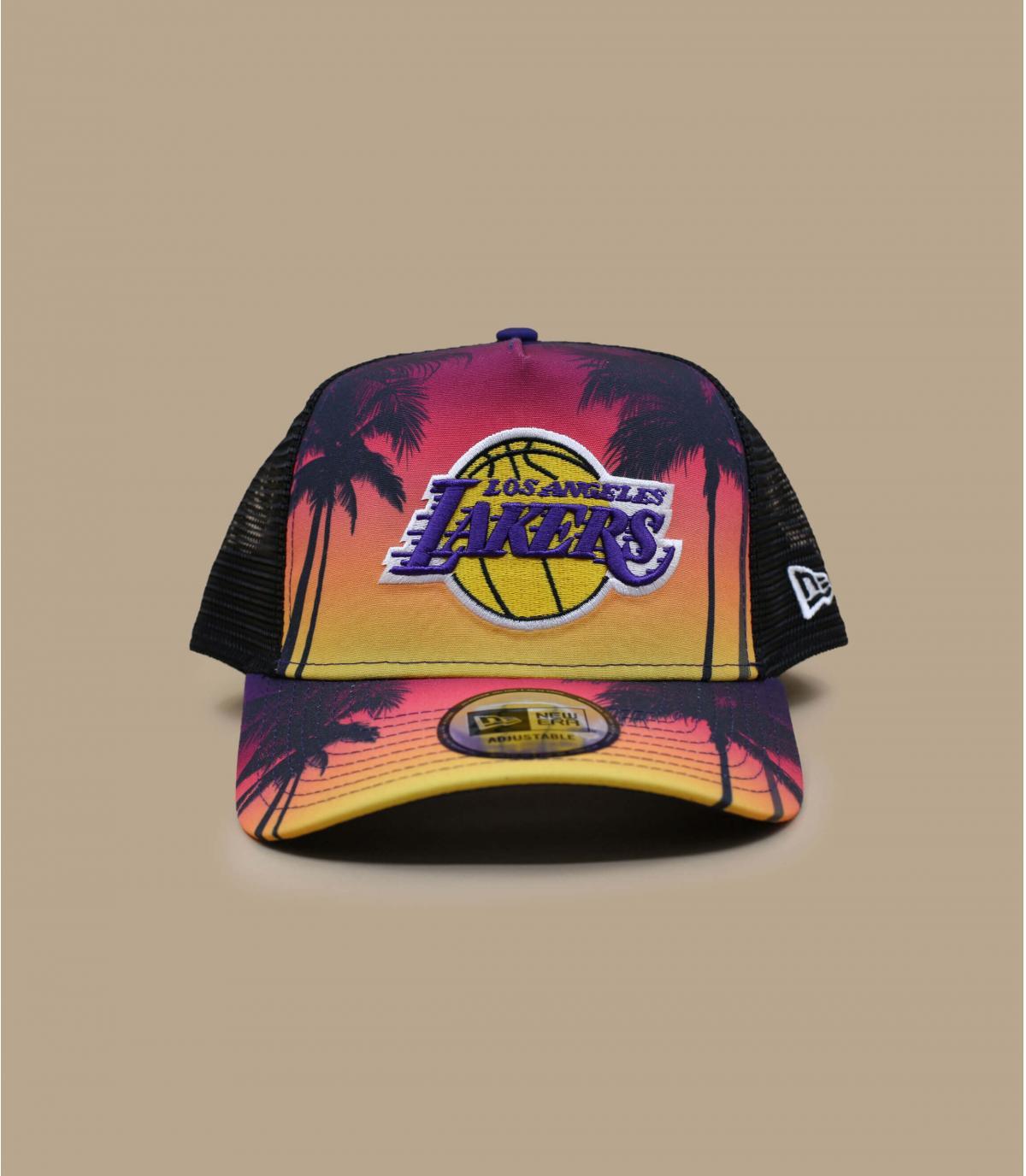 Trucker Lakers palmeras.