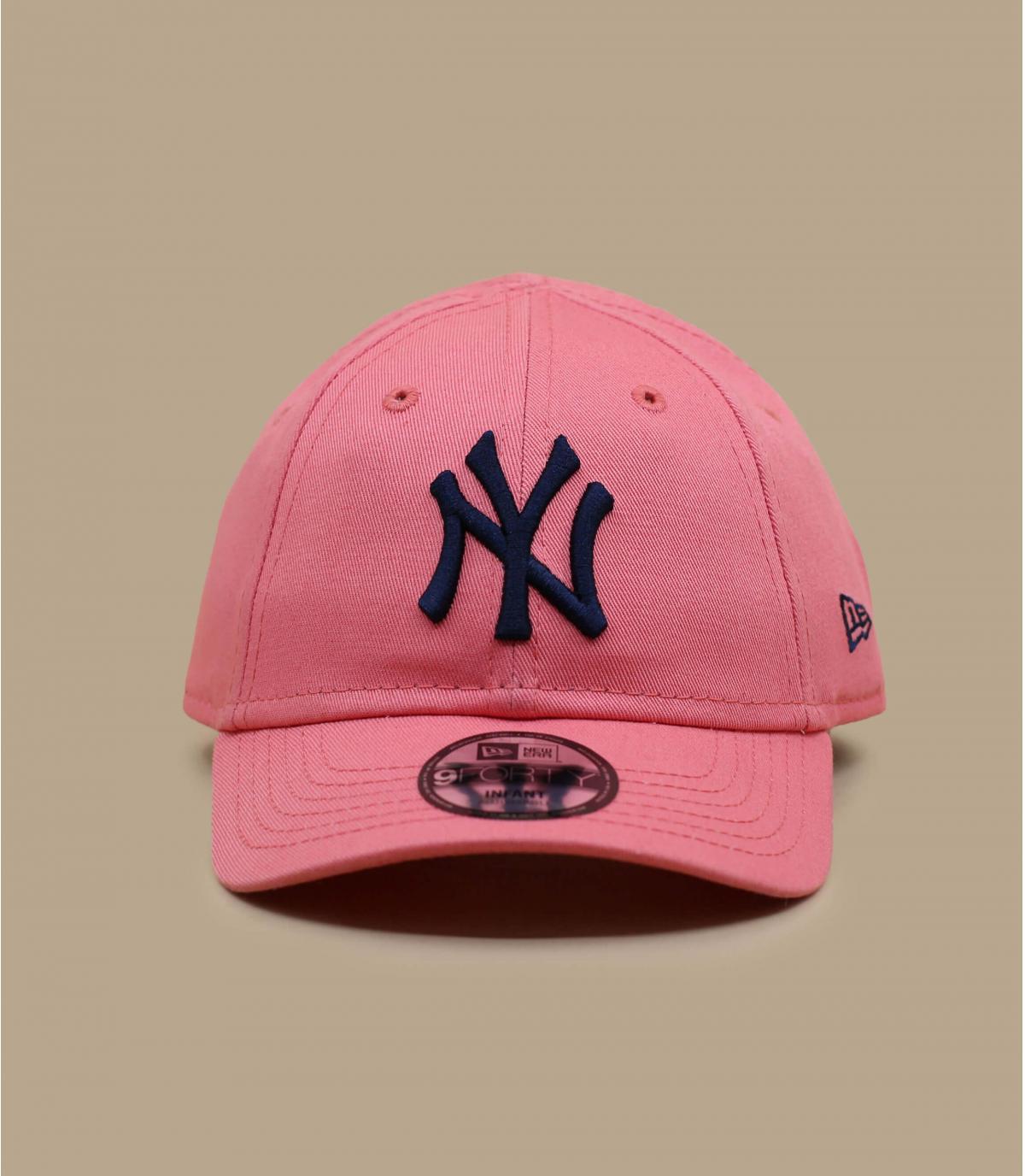 gorra bebe rosa