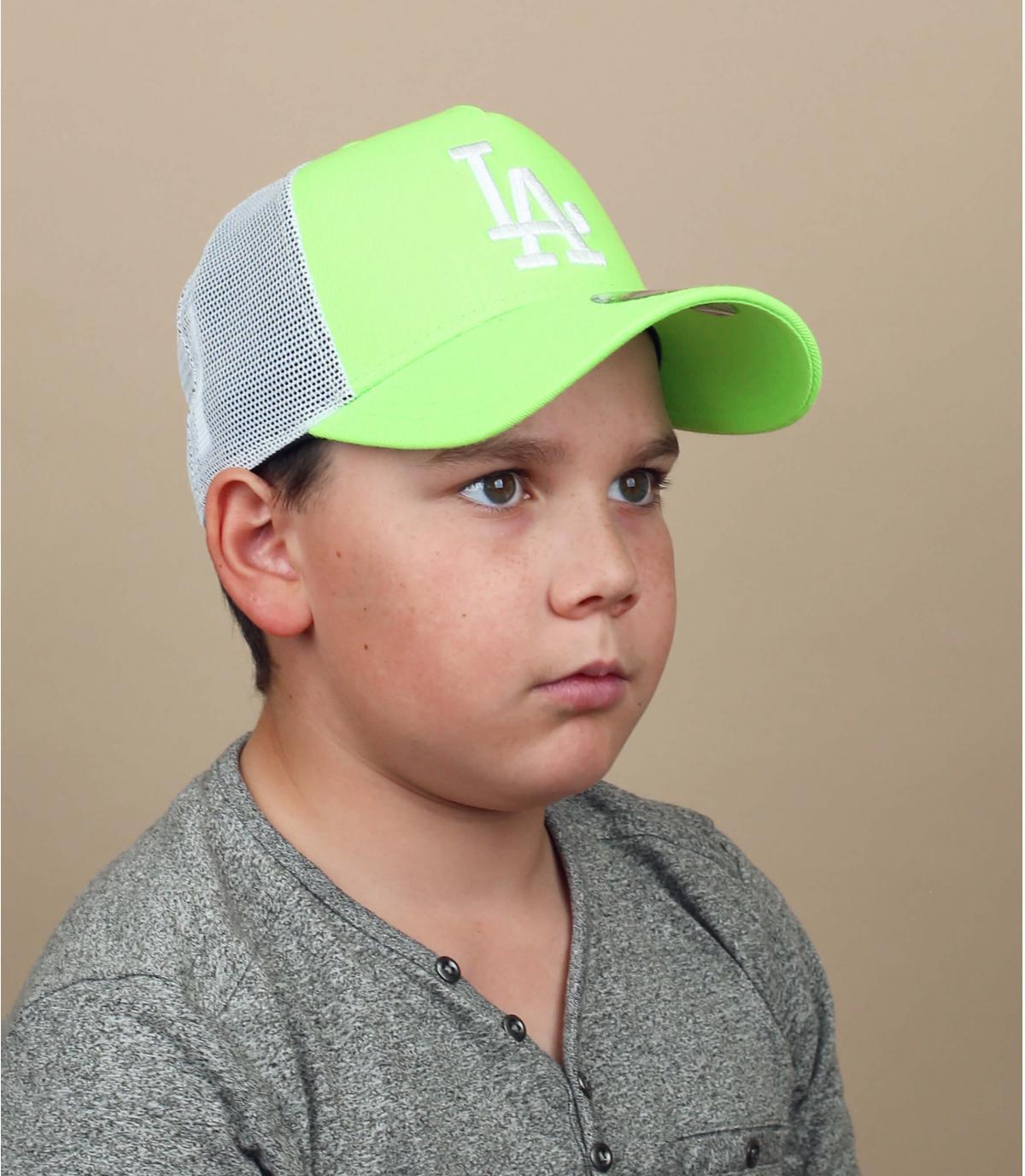 trucker niño LA verde