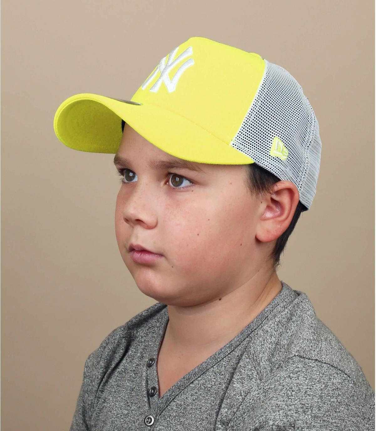 Trucker NY amarillo niño