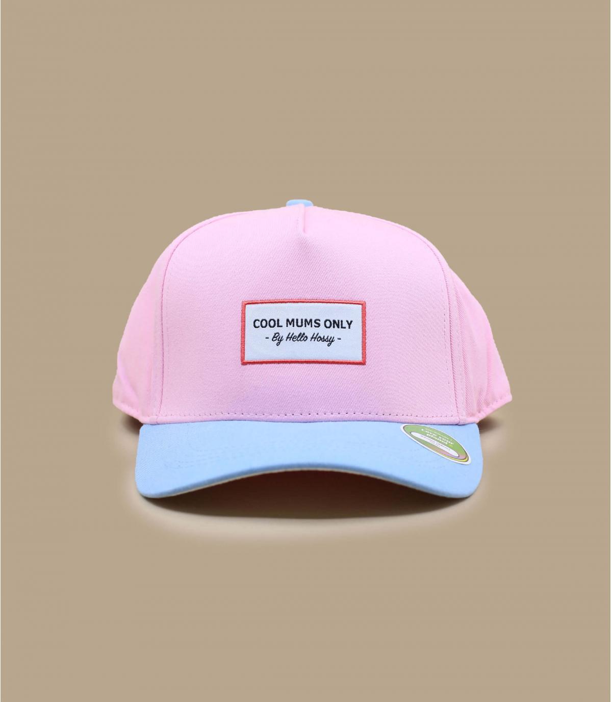 Gorra adulto rosa Hello Hossy