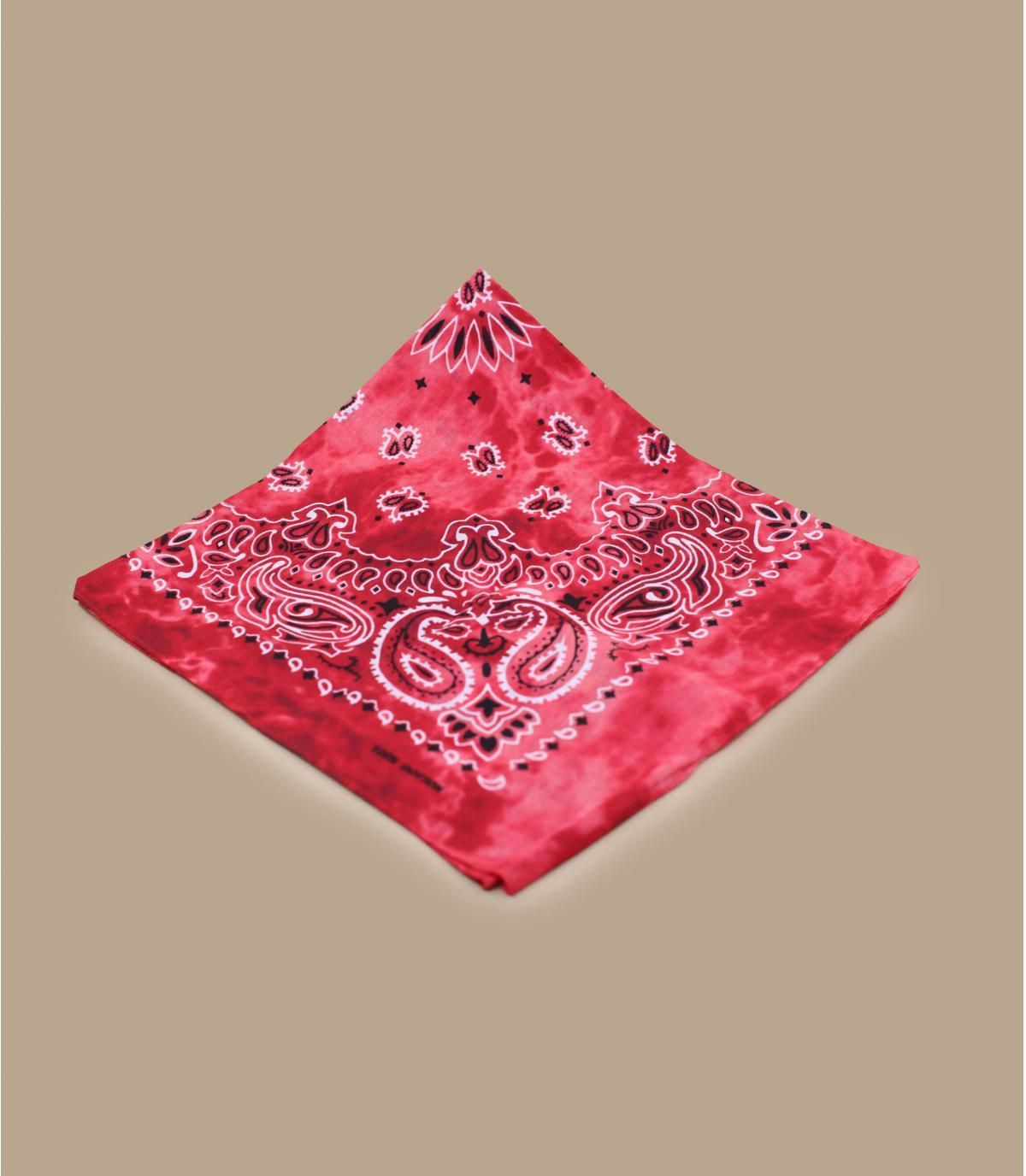 Bandana Tie dye rojo