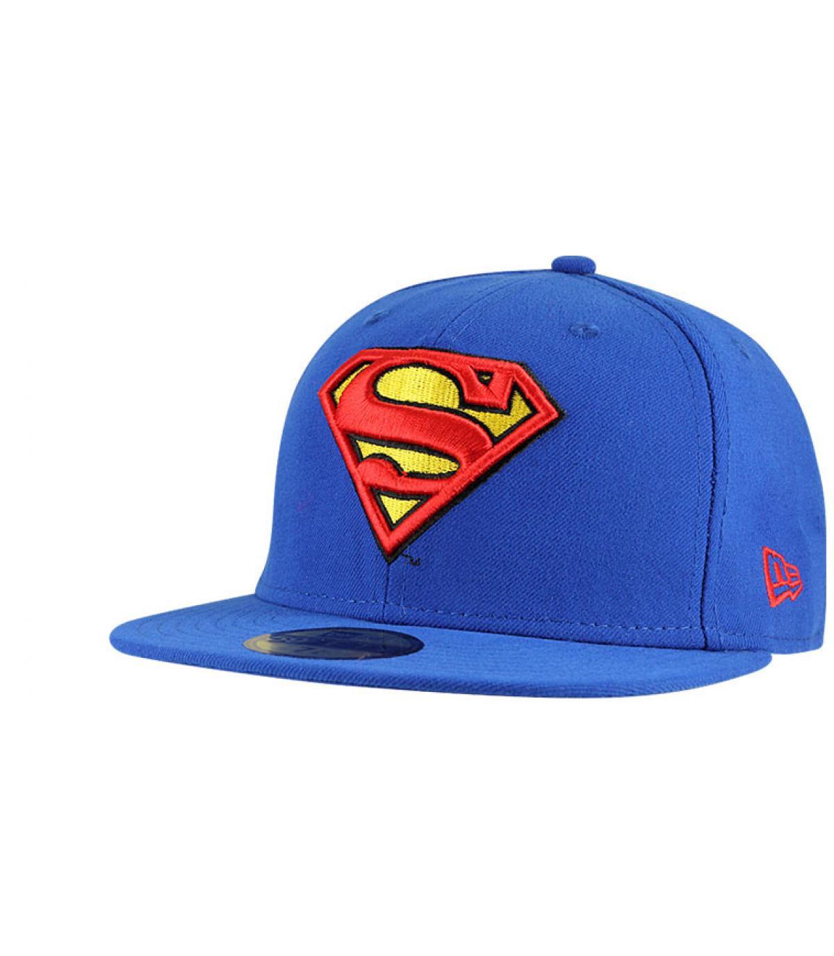 Cap Superman black